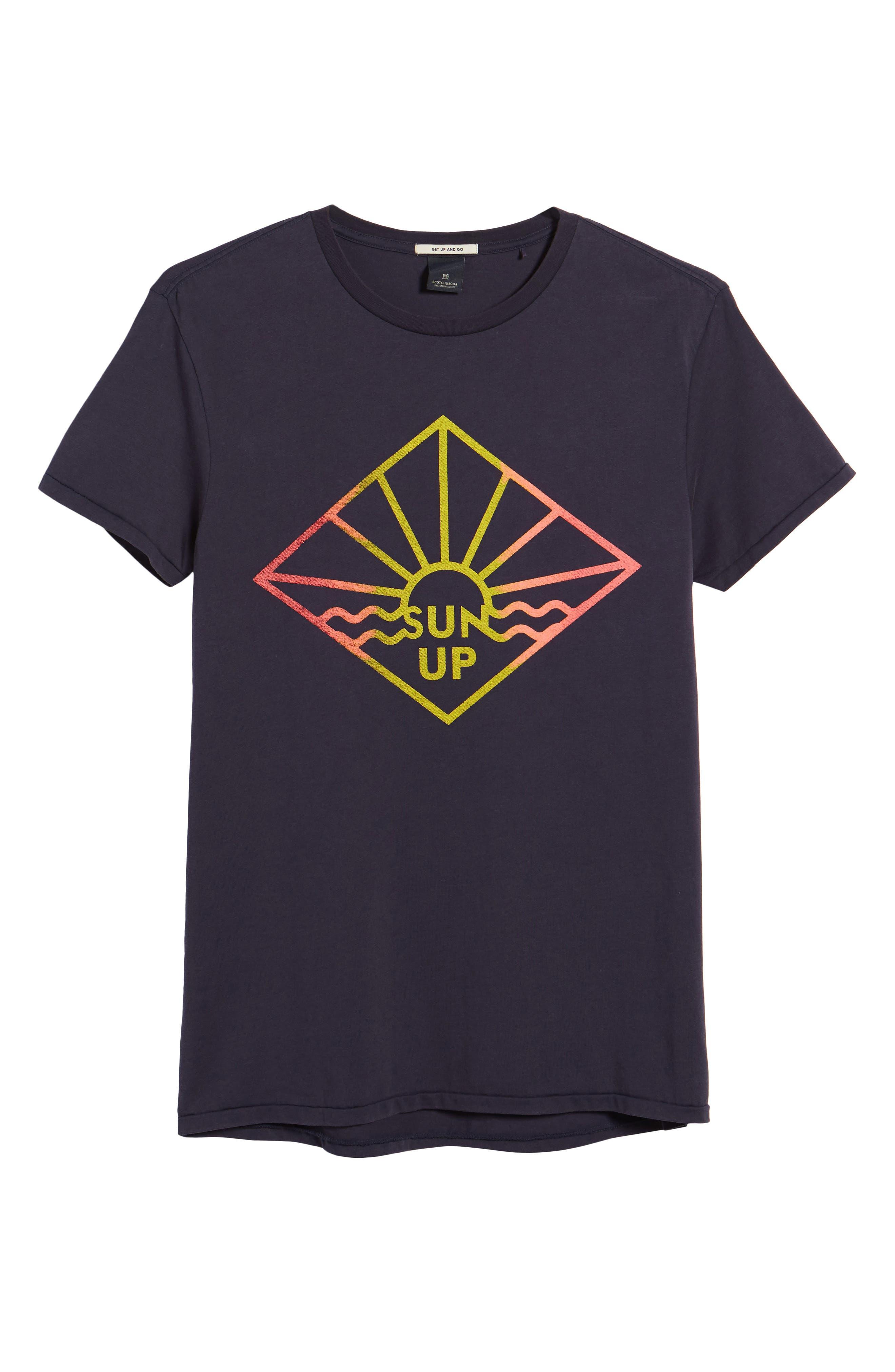 Surfer Graphic T-Shirt,                             Alternate thumbnail 6, color,                             NIGHT
