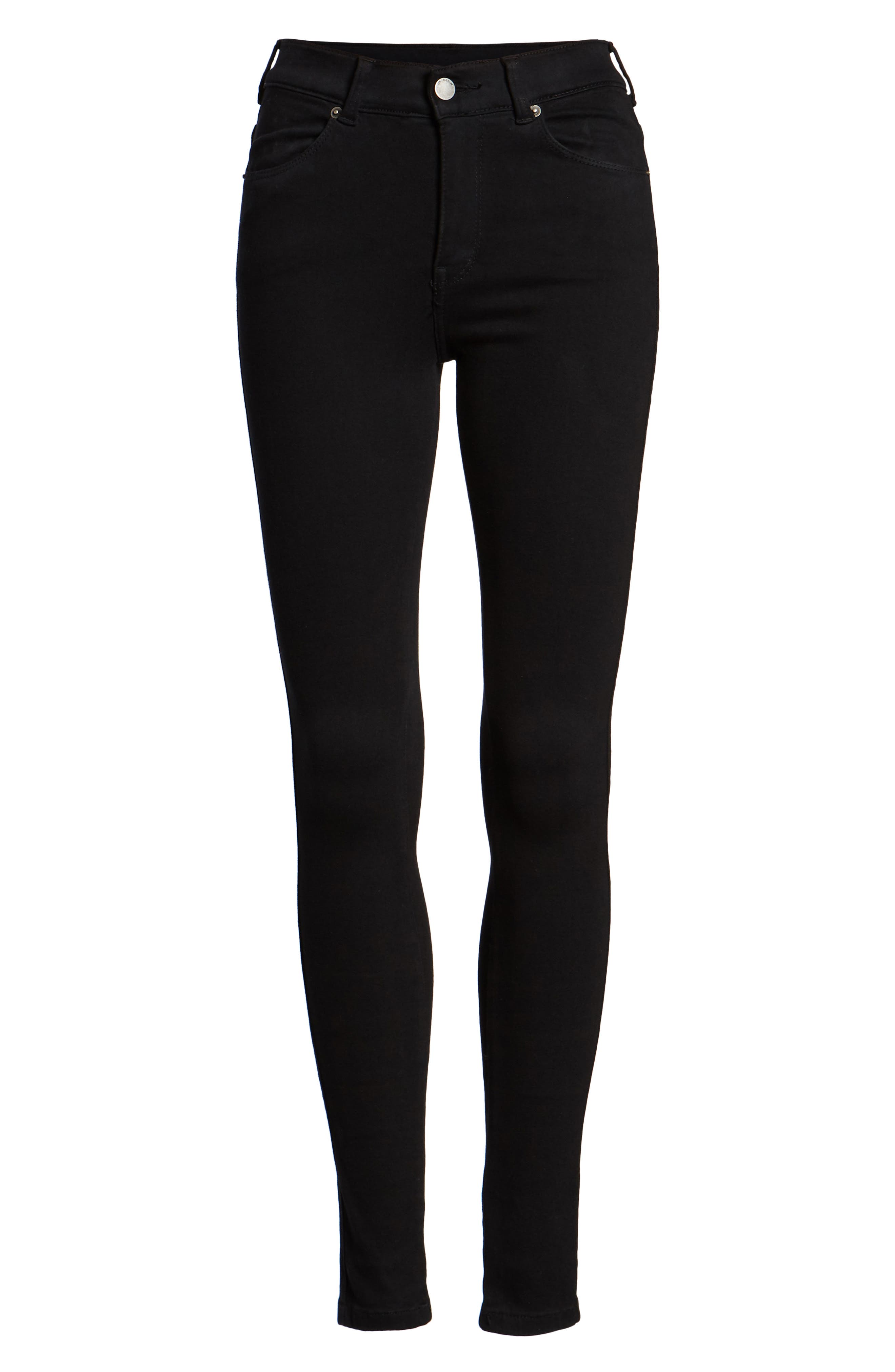 Lexy Skinny Jeans,                             Alternate thumbnail 7, color,                             001