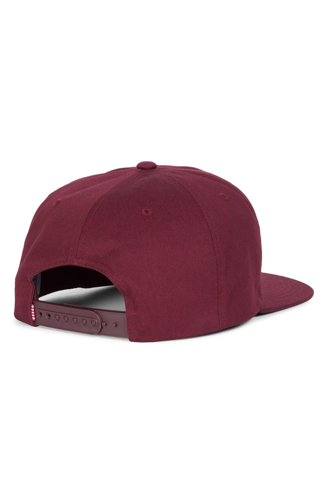 'Mosby' Snapback Baseball Cap,                             Alternate thumbnail 6, color,