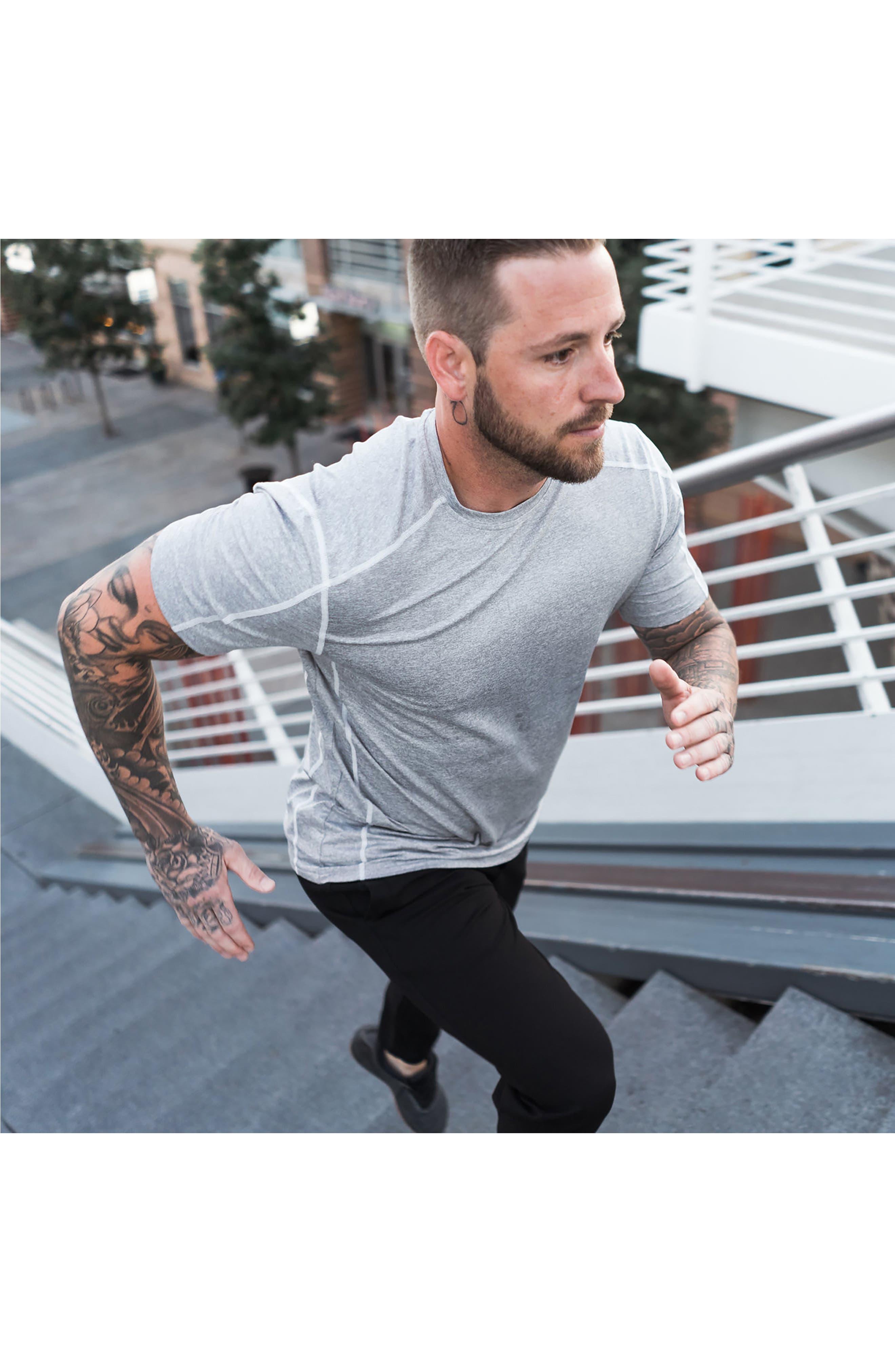 'Cooldown' Moisture Wicking Training T-Shirt,                             Alternate thumbnail 7, color,                             030