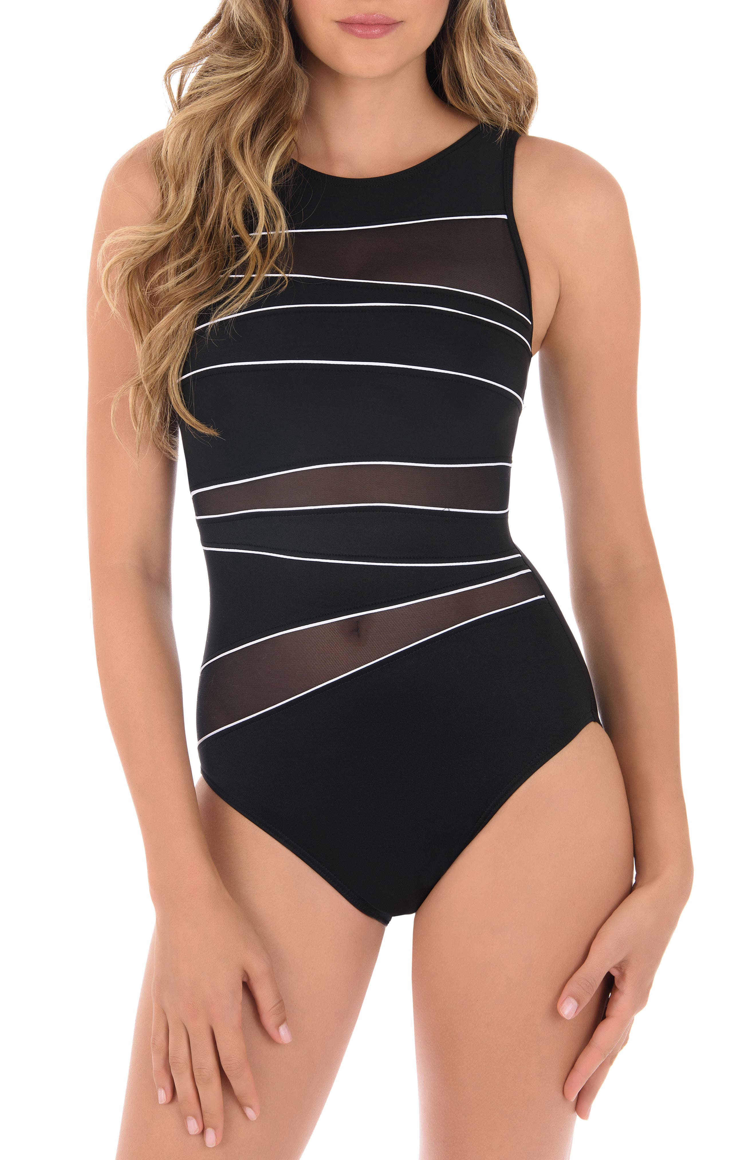 Spectra Somerset One-Piece Swimsuit,                         Main,                         color,