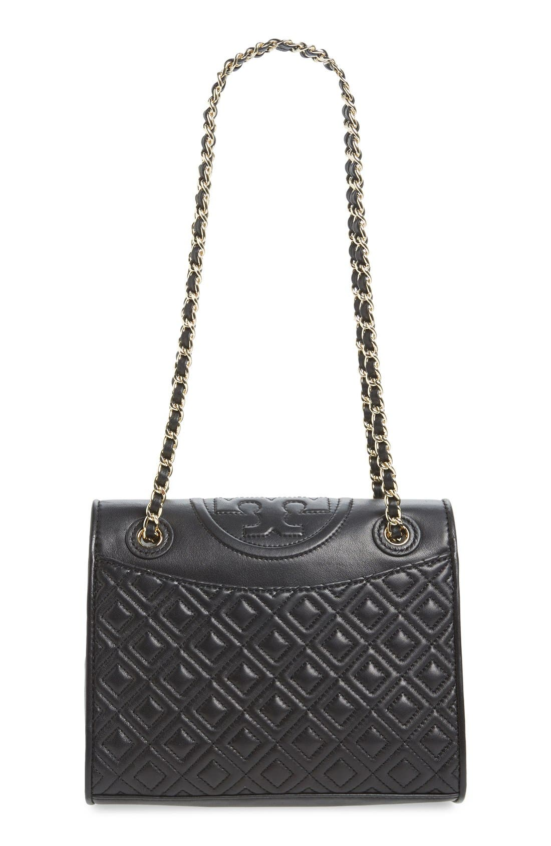 'Medium Fleming' Leather Shoulder Bag,                             Alternate thumbnail 2, color,                             001