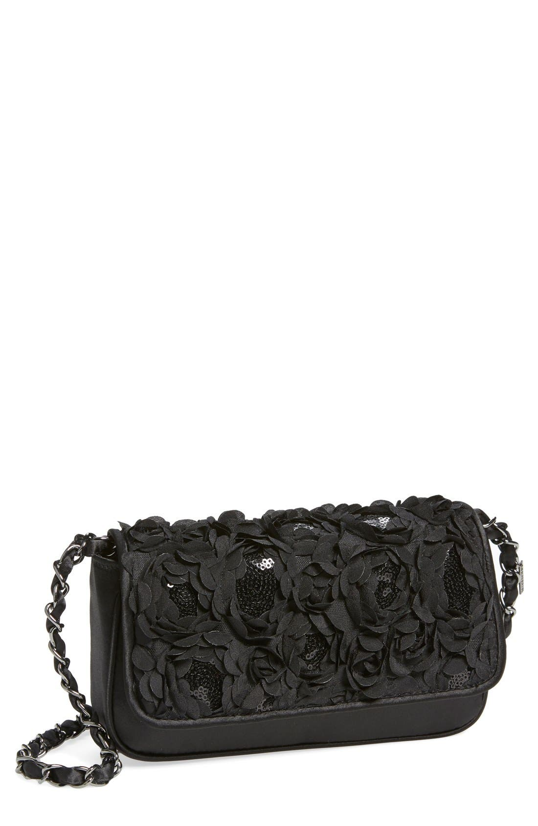 'Lassus' Satin Clutch,                         Main,                         color,