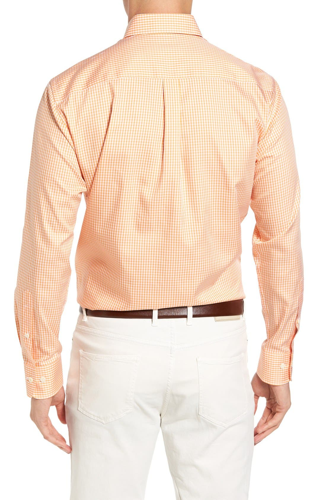 Crown Soft Gingham Regular Fit Sport Shirt,                             Alternate thumbnail 22, color,