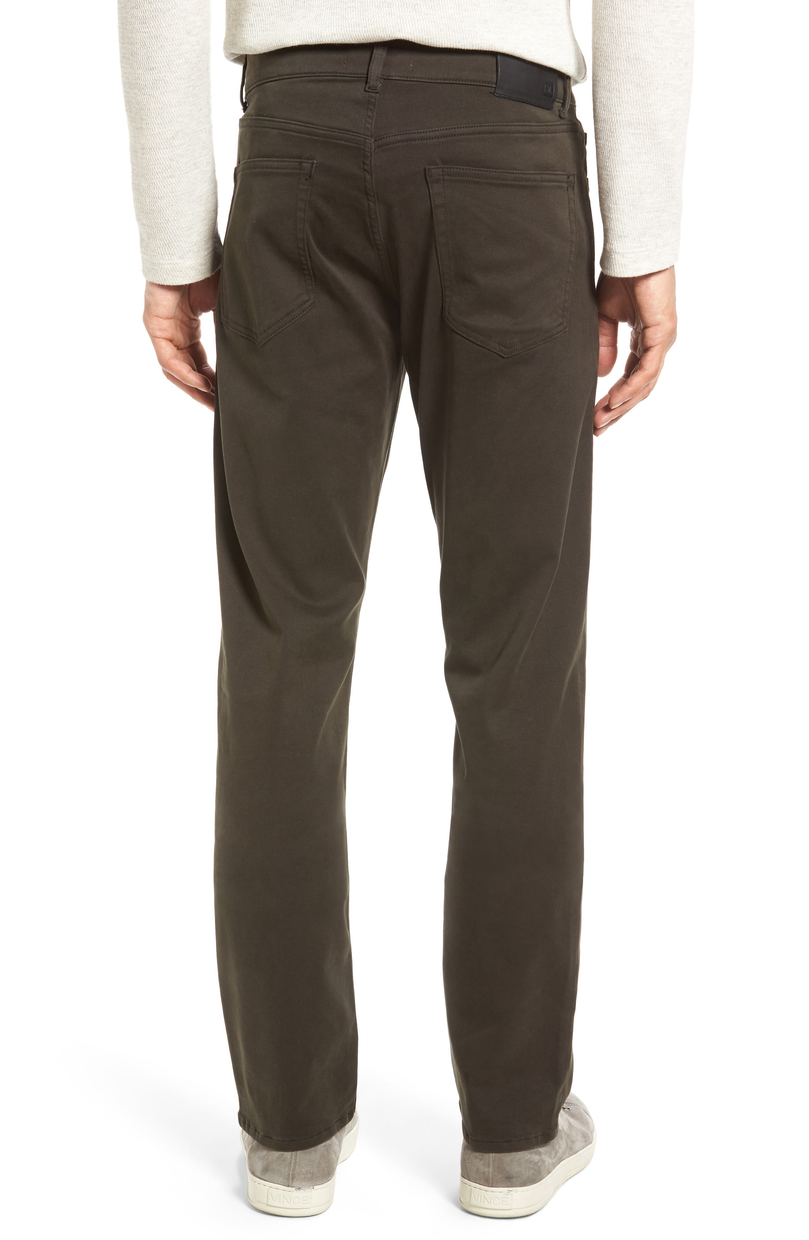 Russell Slim Fit Sateen Twill Pants,                             Alternate thumbnail 17, color,