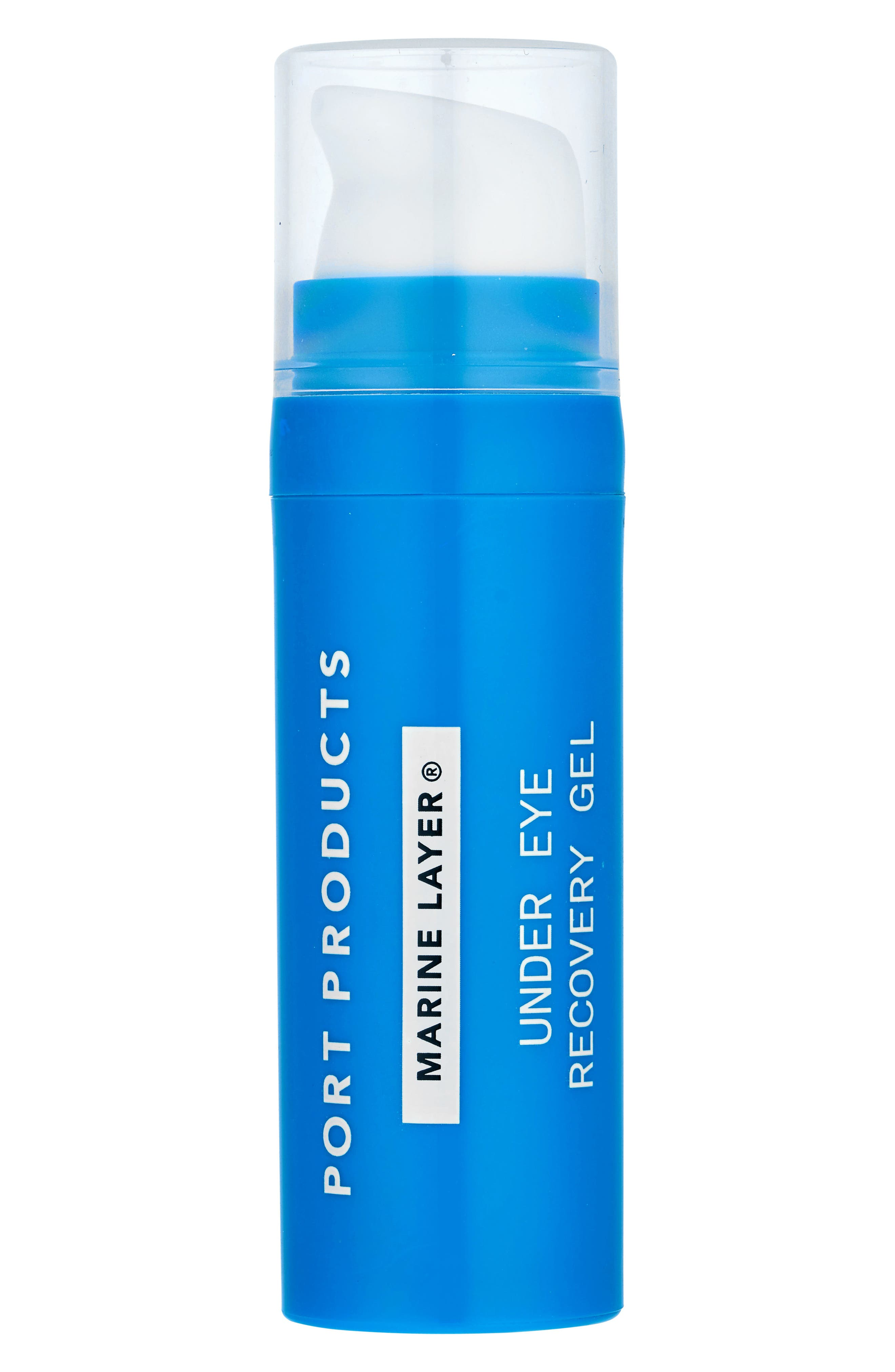 Marine Layer Under Eye Recovery Gel,                             Main thumbnail 1, color,                             000