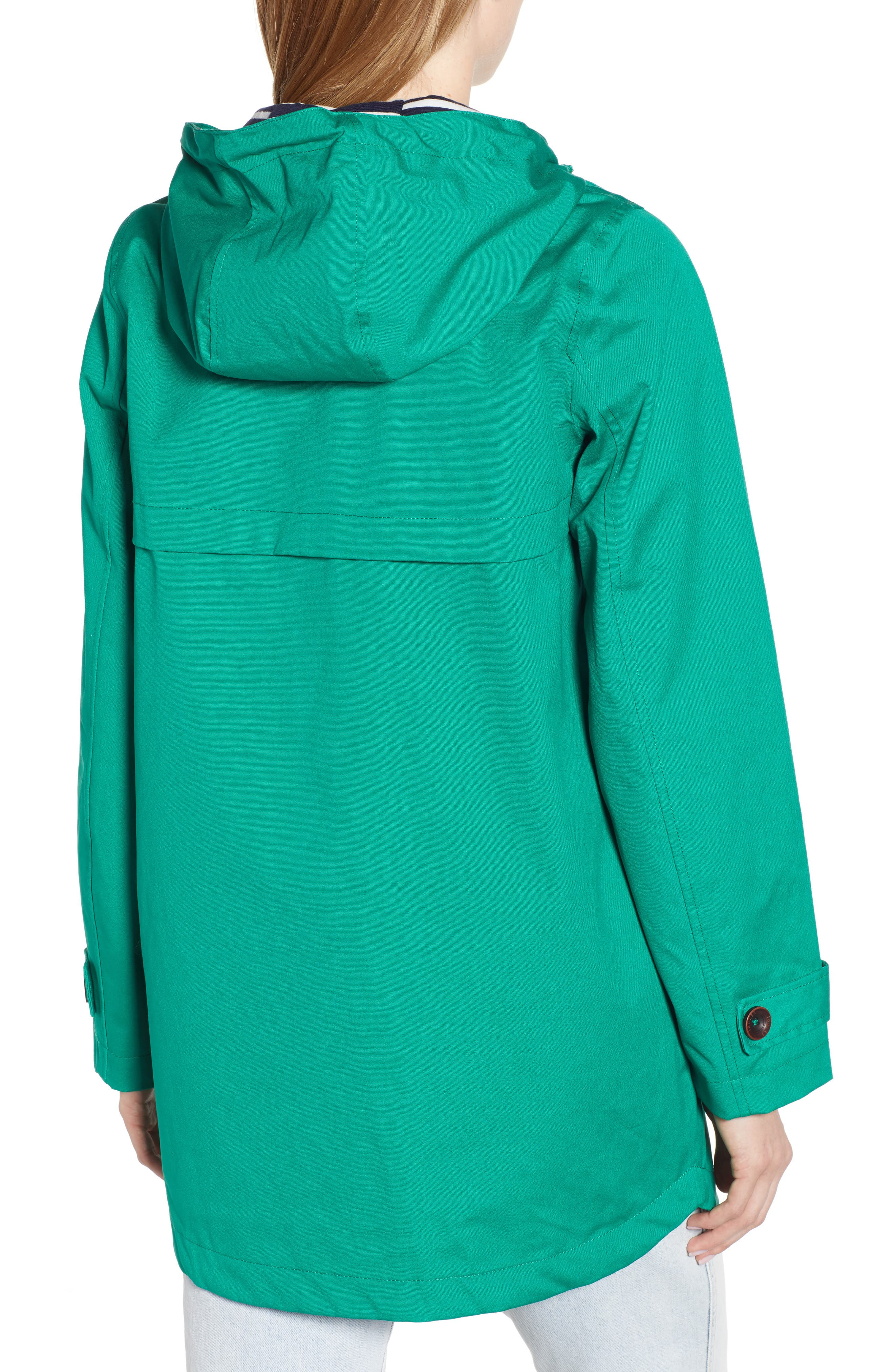 Coast Waterproof Hooded Jacket,                             Alternate thumbnail 2, color,                             GREEN