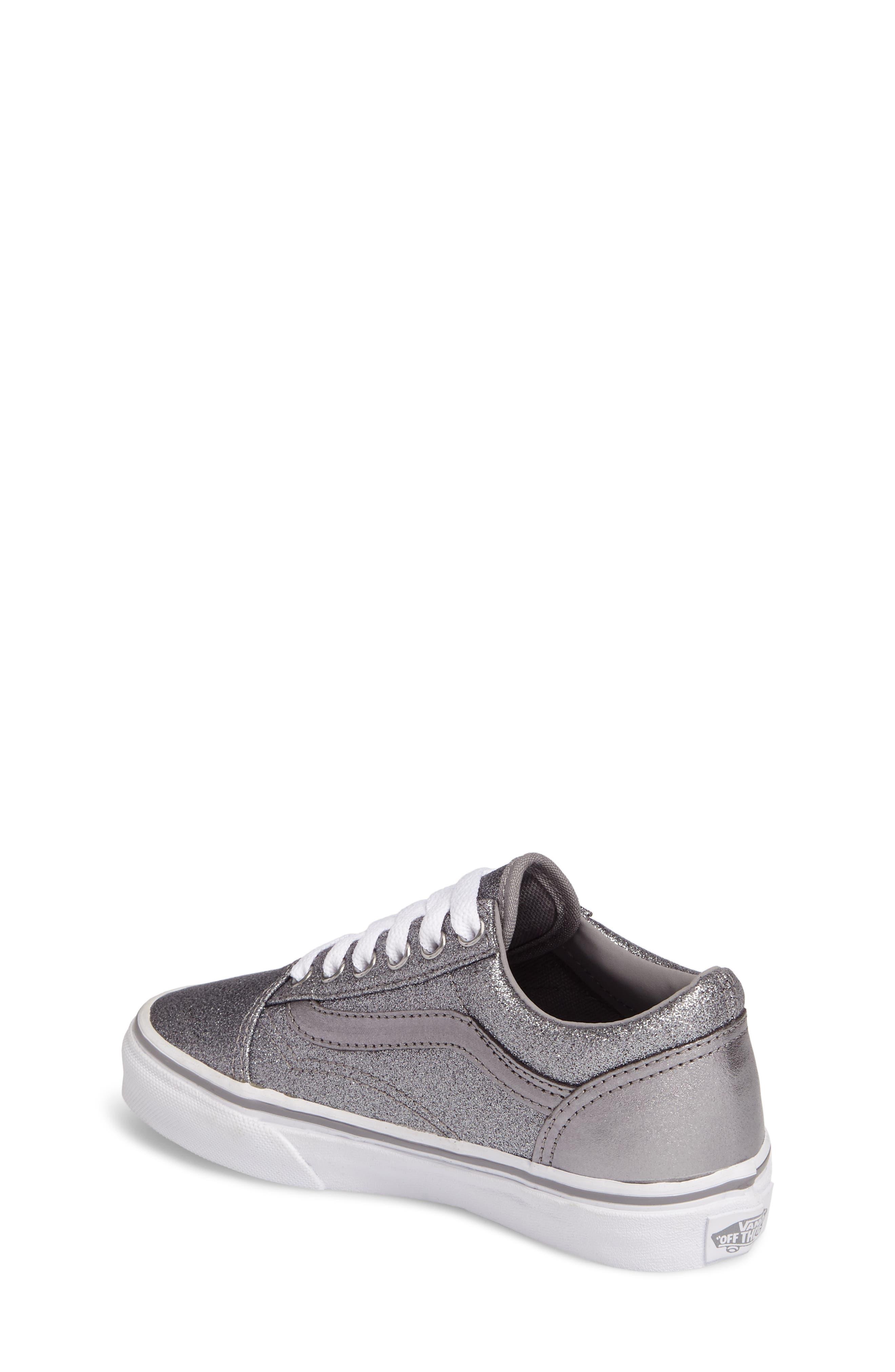 Old Skool Glitter Sneaker,                             Alternate thumbnail 2, color,                             040