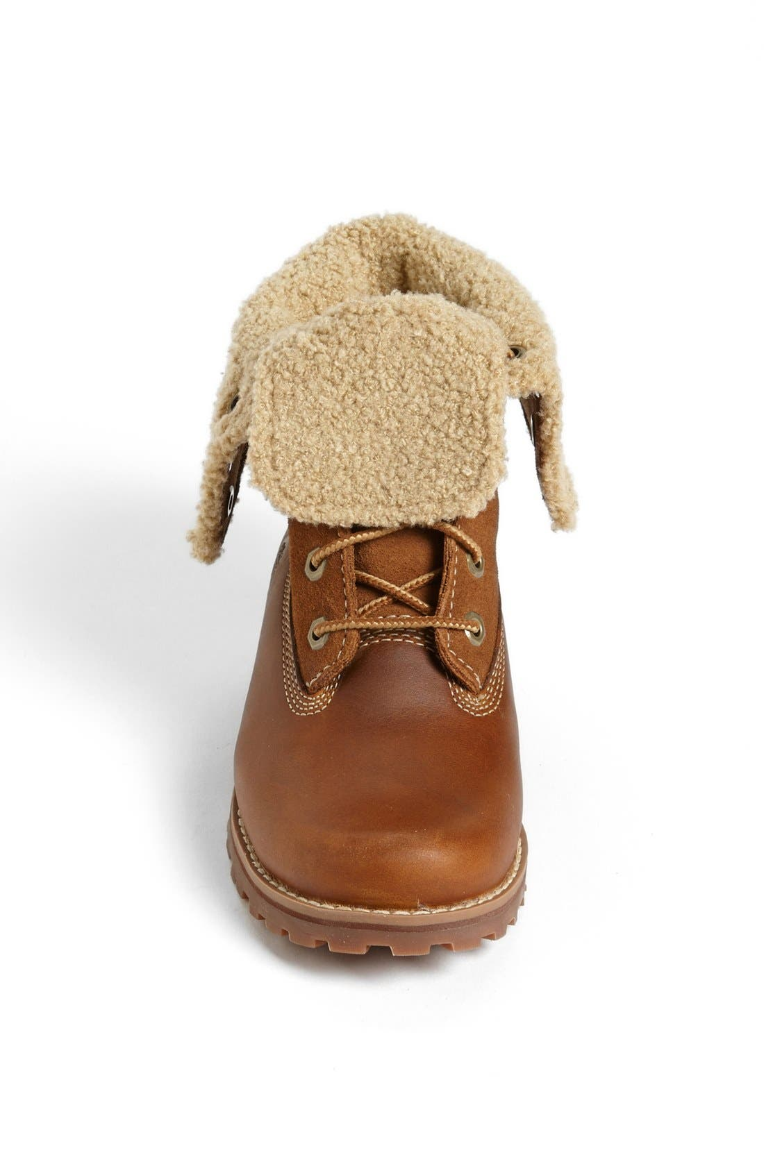 Genuine Shearling Boot,                             Alternate thumbnail 4, color,                             214
