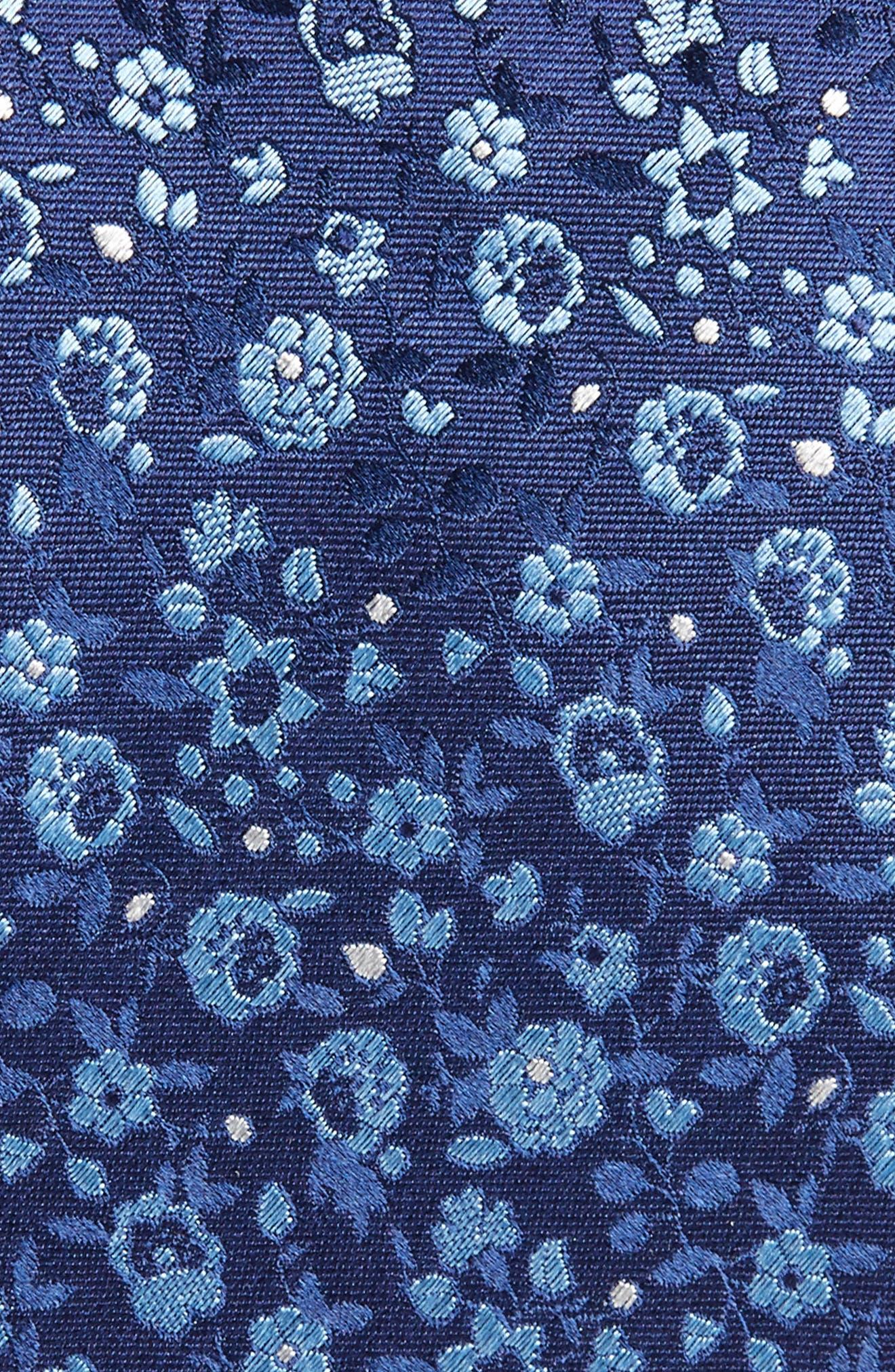 Floral Silk Tie,                             Alternate thumbnail 2, color,                             410