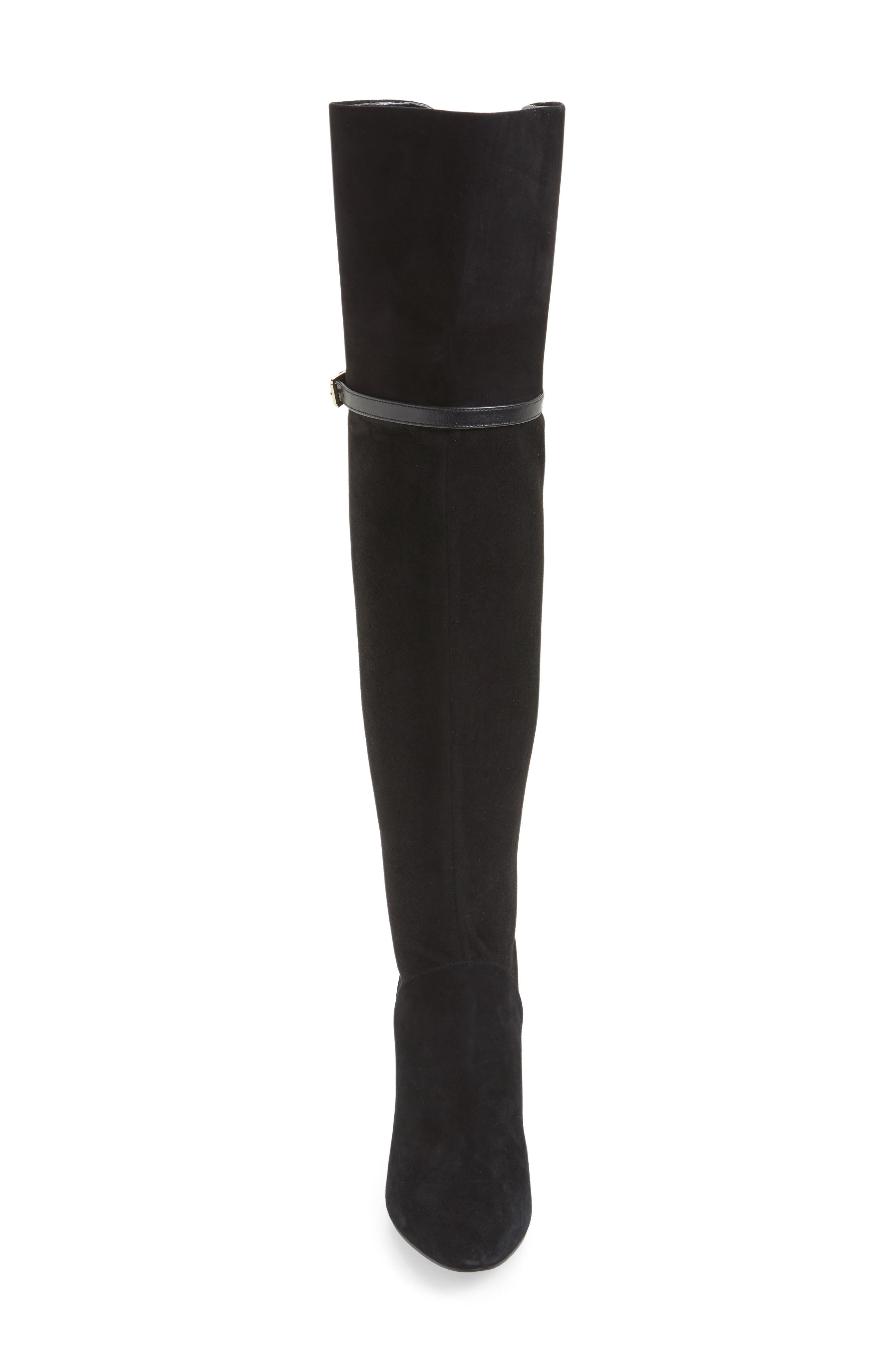 Darcia Over the Knee Boot,                             Alternate thumbnail 4, color,                             001