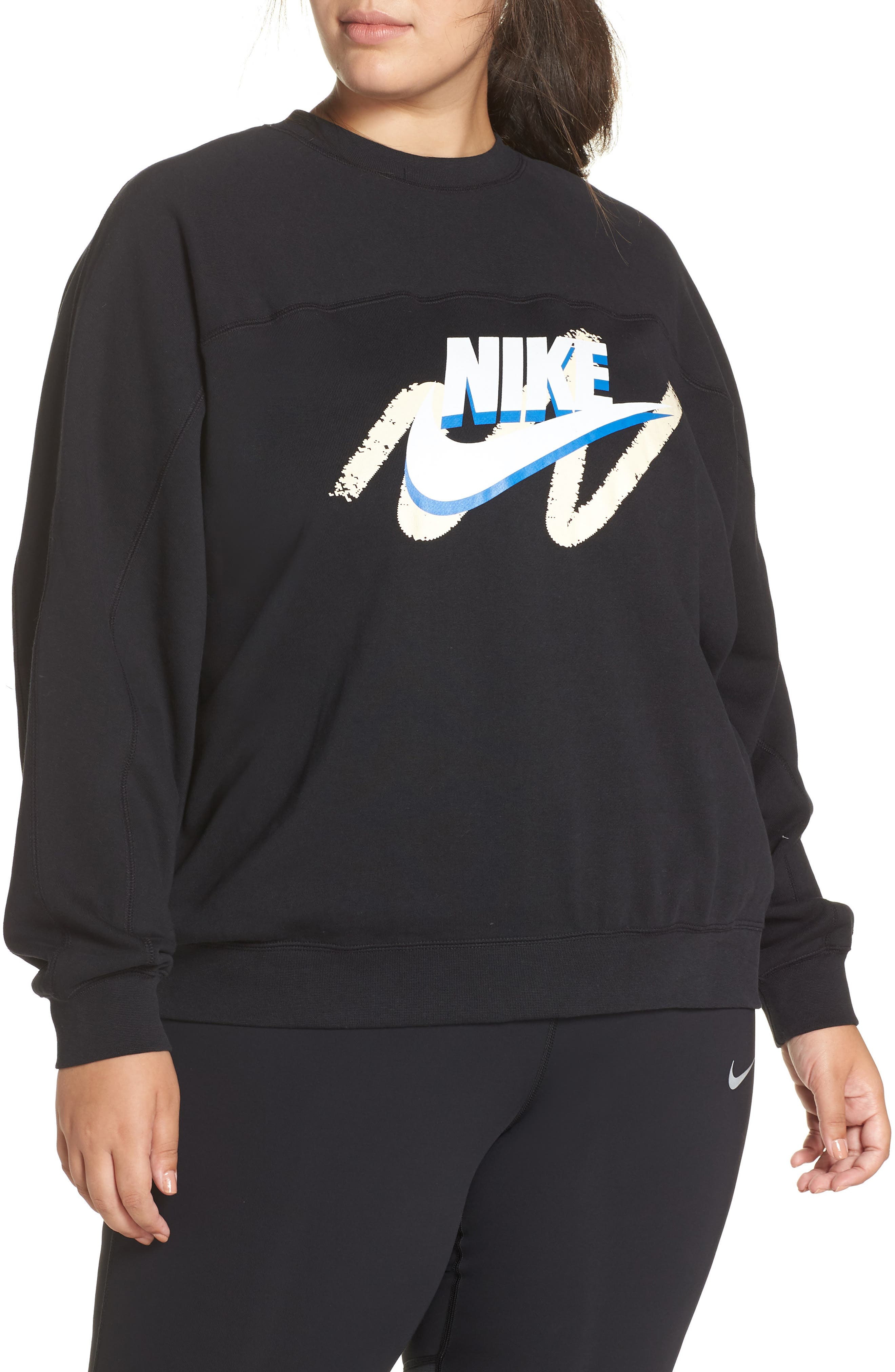 Sportswear Archive Sweatshirt,                             Main thumbnail 1, color,                             010