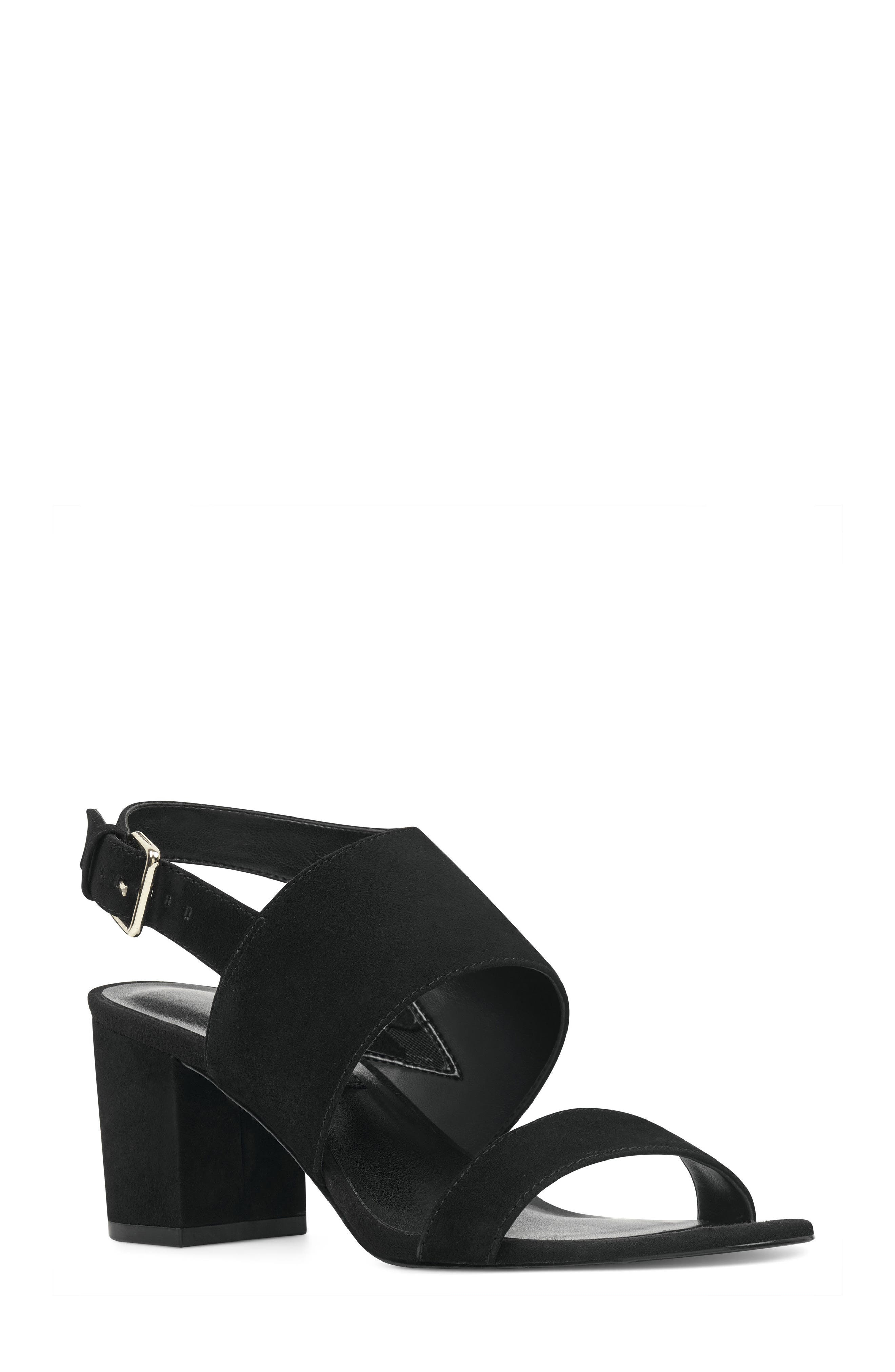 Forli Asymmetrical Sandal,                             Main thumbnail 1, color,                             001