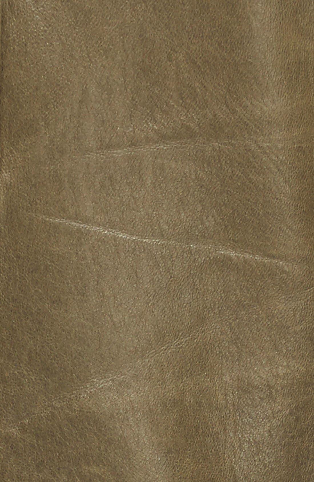 'Sidney' Leather Moto Jacket,                             Alternate thumbnail 6, color,                             338