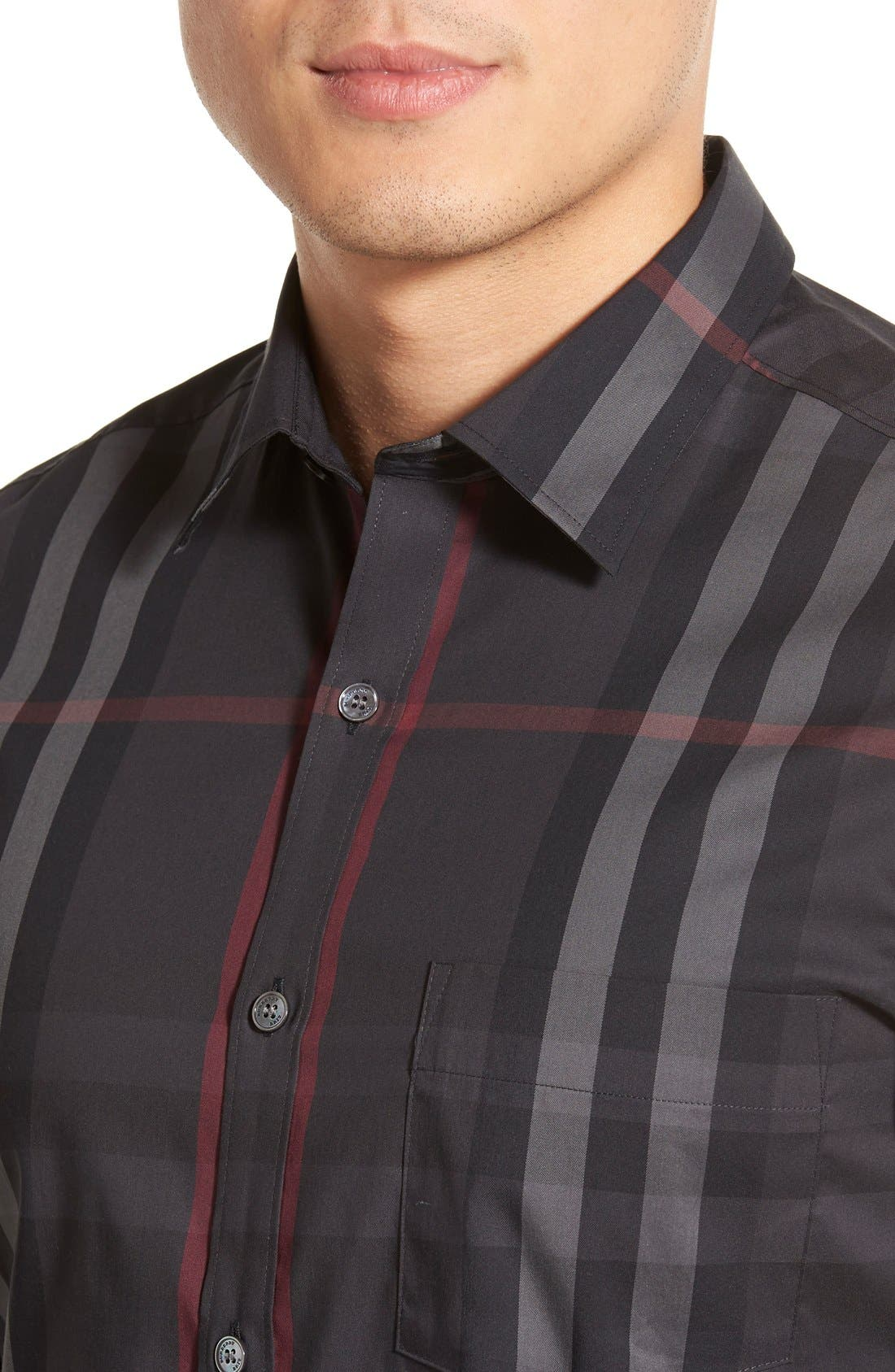 Nelson Check Sport Shirt,                             Alternate thumbnail 30, color,