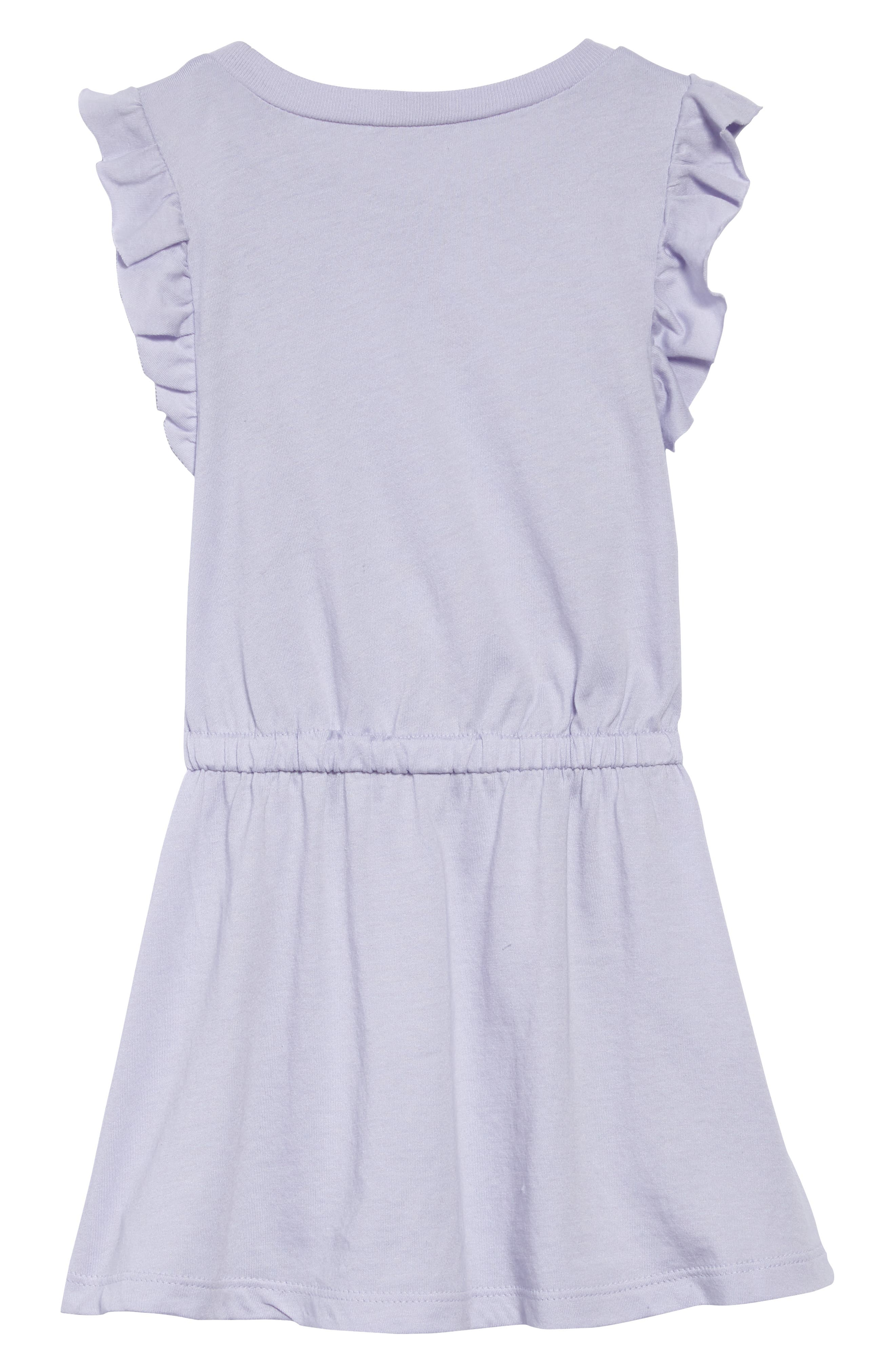 Ruffle Dress,                             Alternate thumbnail 2, color,                             530