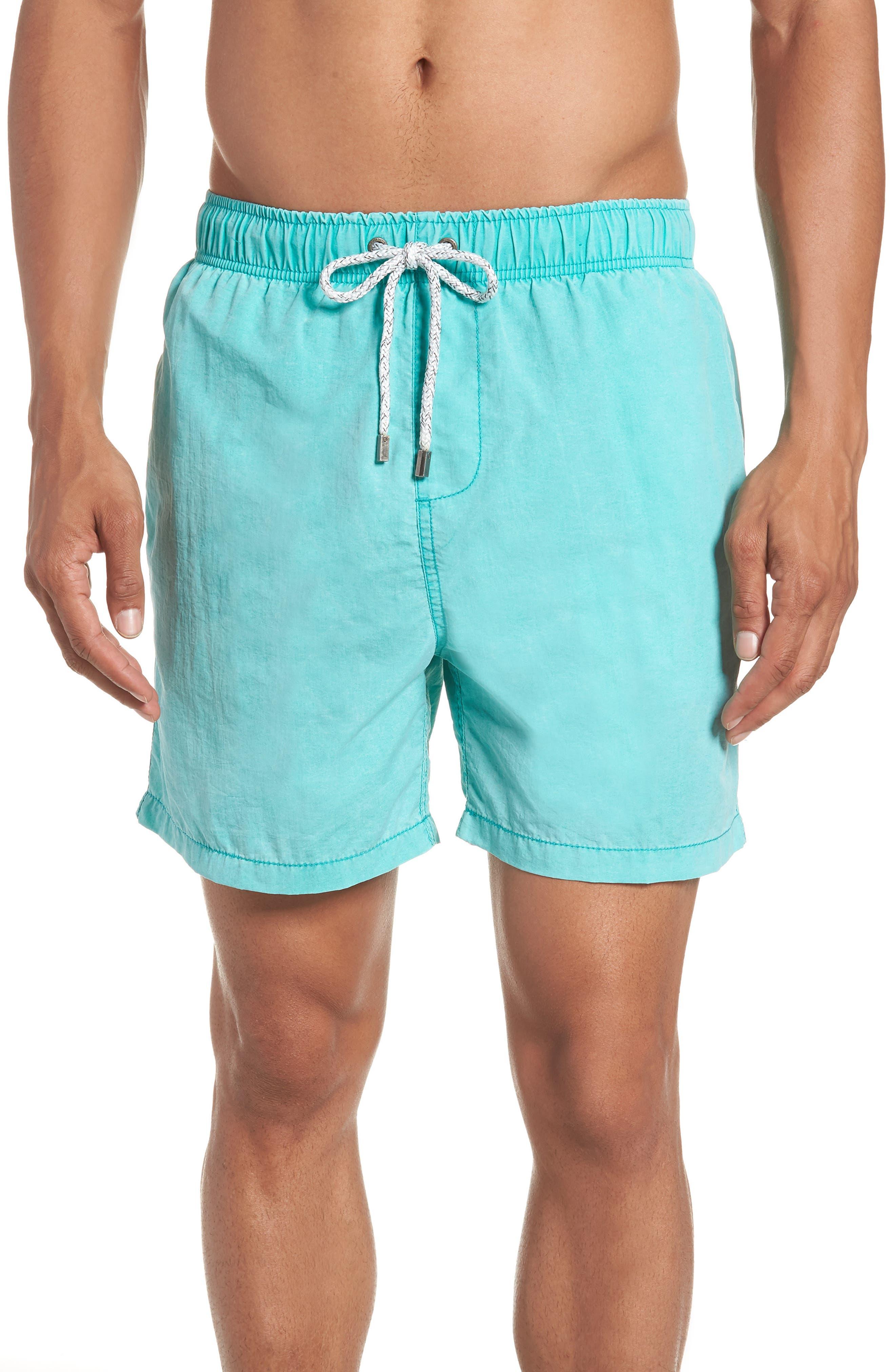 Swim Trunks,                         Main,                         color, LIGHT GREEN