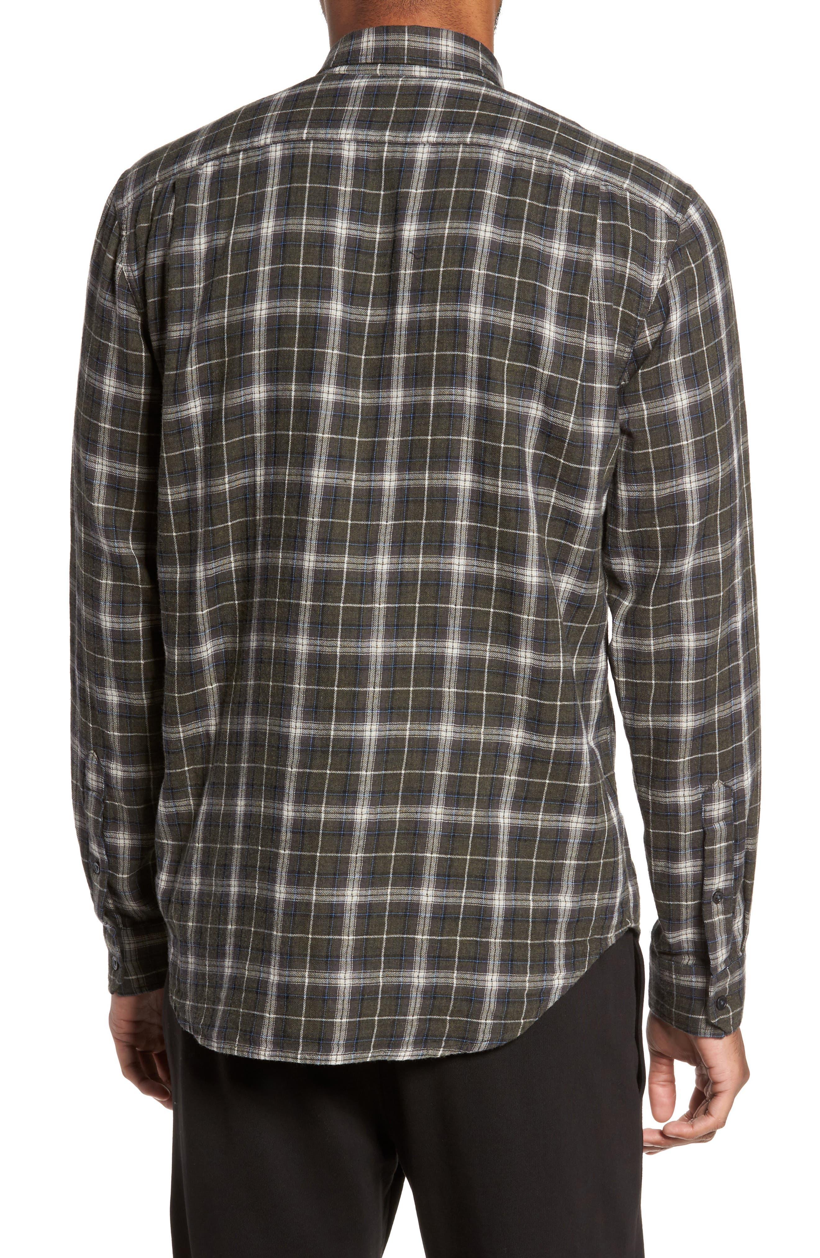 Plaid Double Face Sport Shirt,                             Alternate thumbnail 2, color,                             200