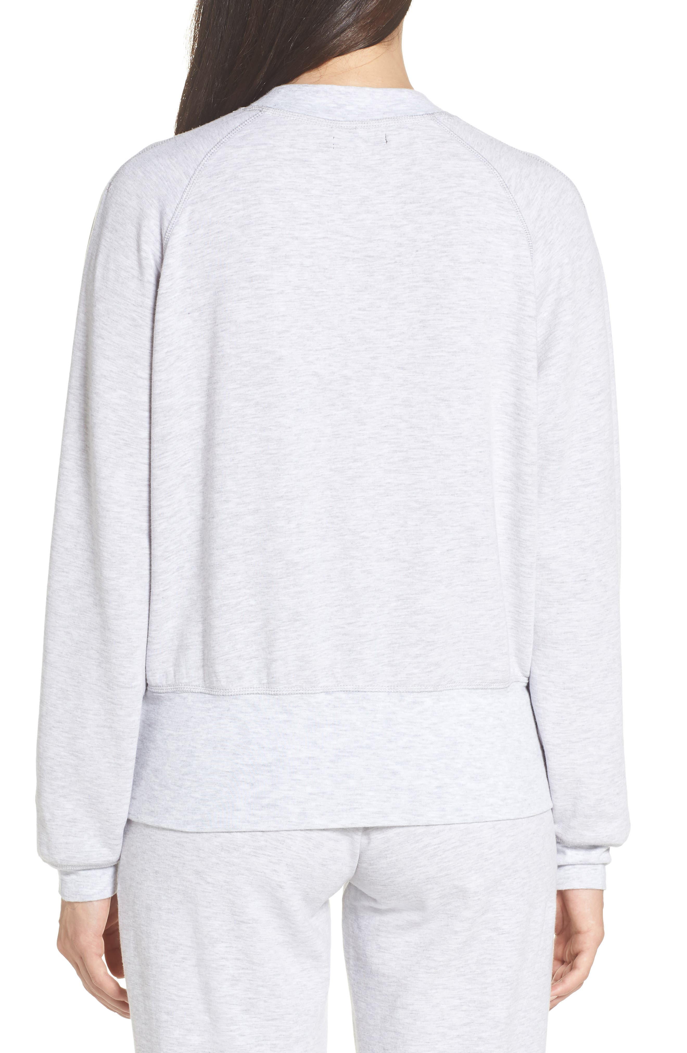 Cool Touch Sweatshirt,                             Alternate thumbnail 2, color,                             GREY