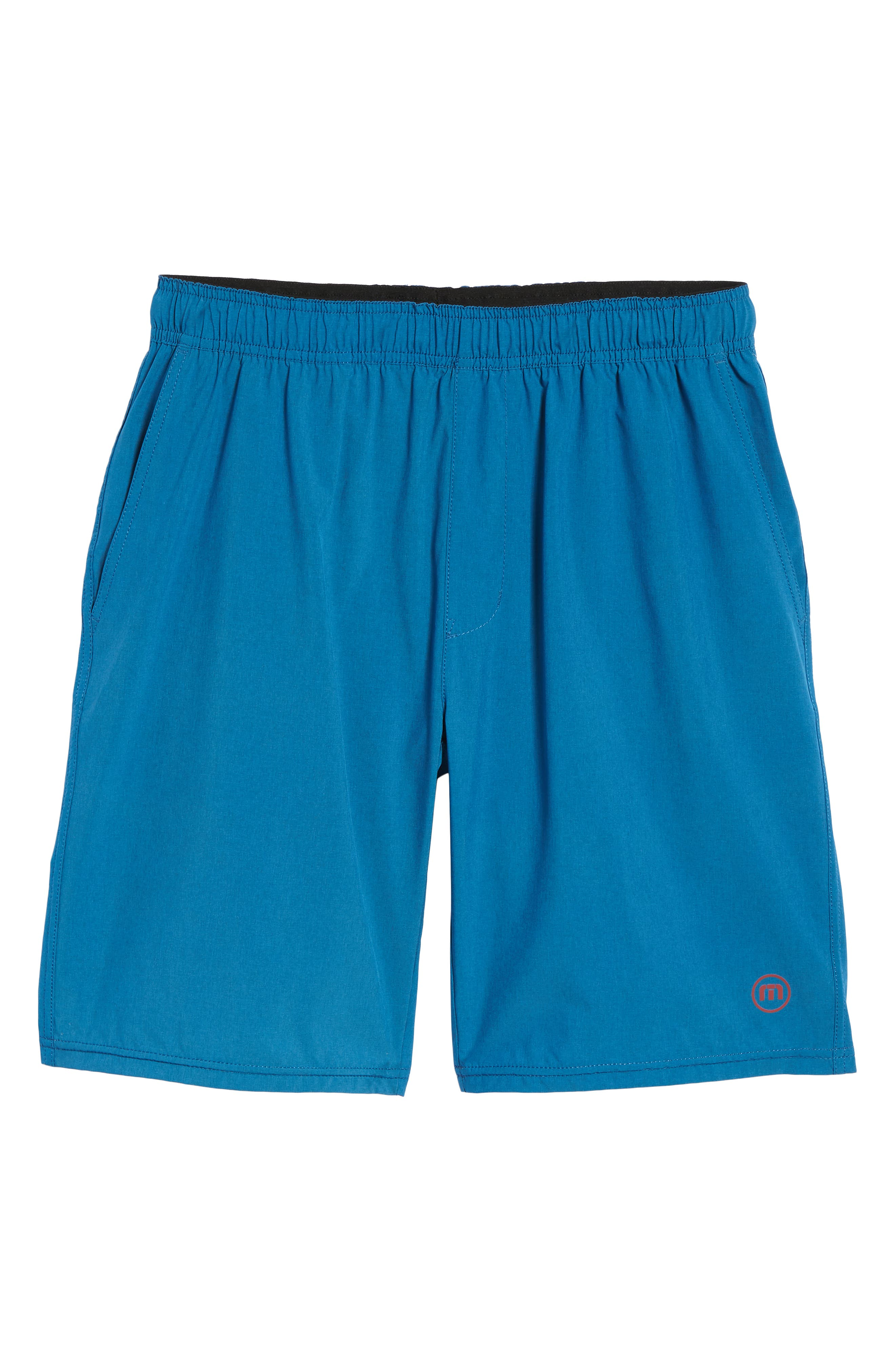 The Pace Performance Shorts,                             Alternate thumbnail 6, color,                             HEATHER FRENCH BLUE