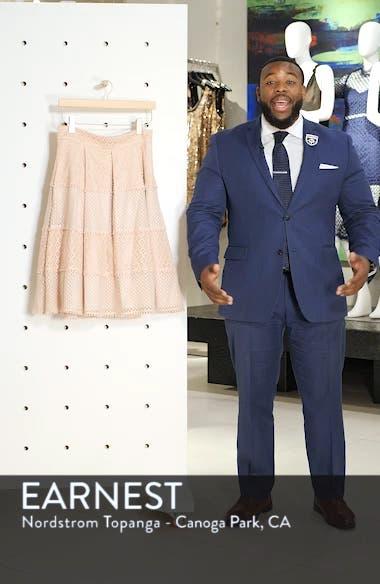 Banded Lace Midi Skirt, sales video thumbnail
