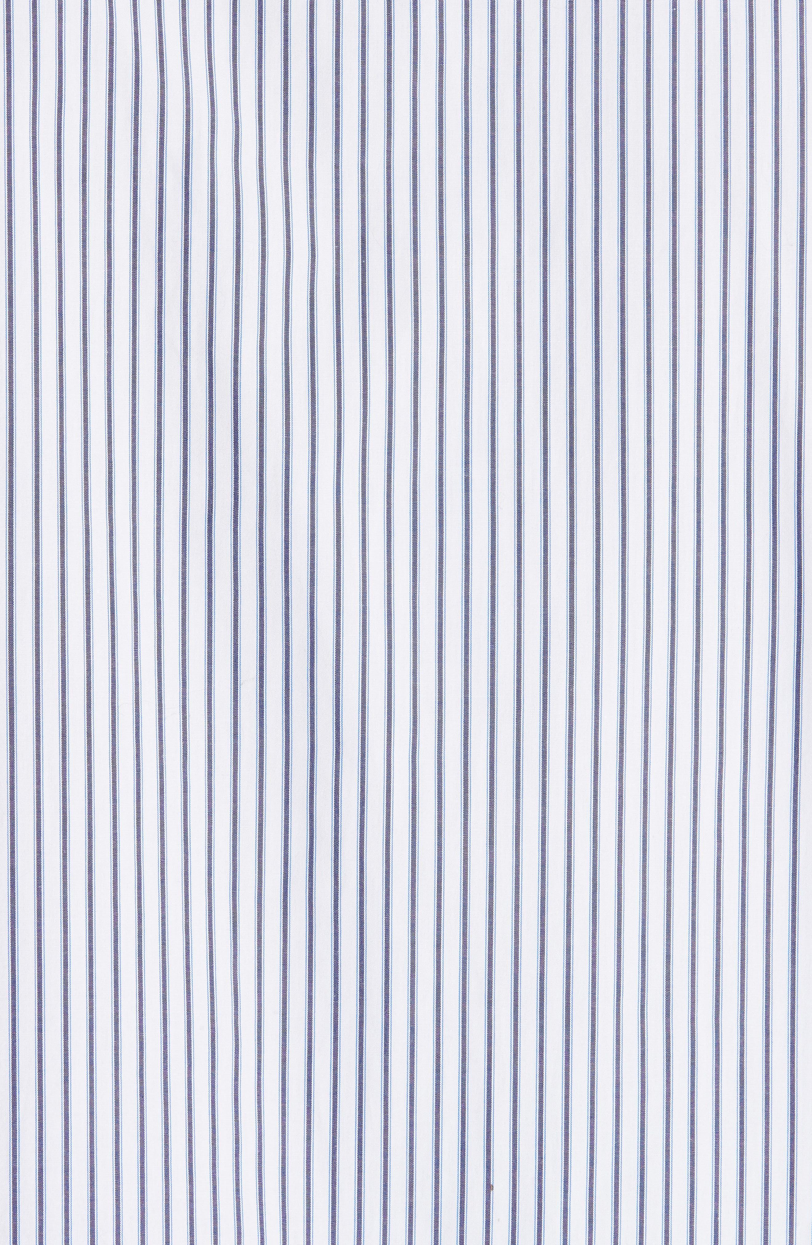 Double Layer Woven Shirt,                             Alternate thumbnail 5, color,                             WHITE