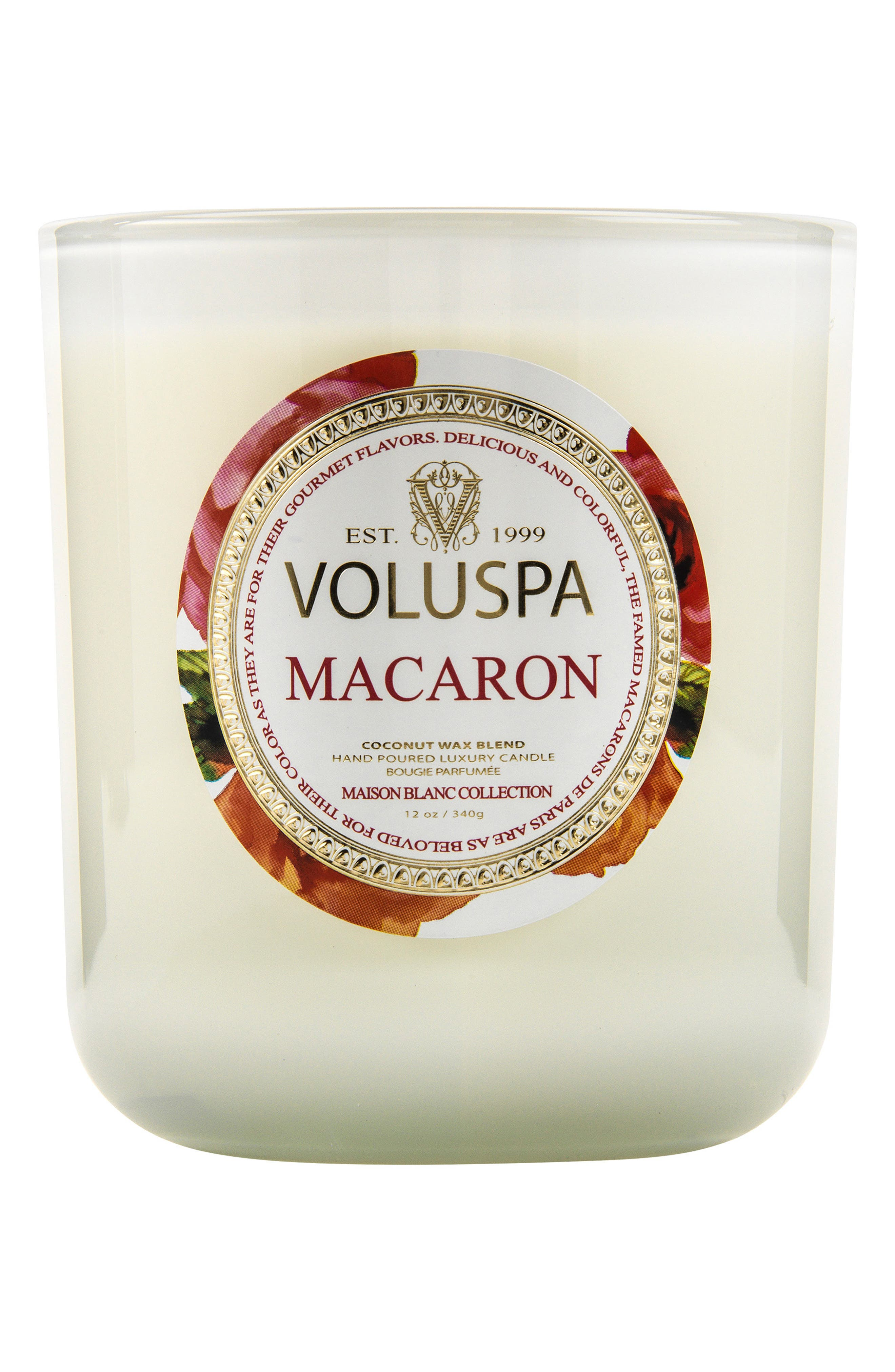Maison Blanc Macaron Classic Maison Candle,                             Alternate thumbnail 2, color,                             NO COLOR