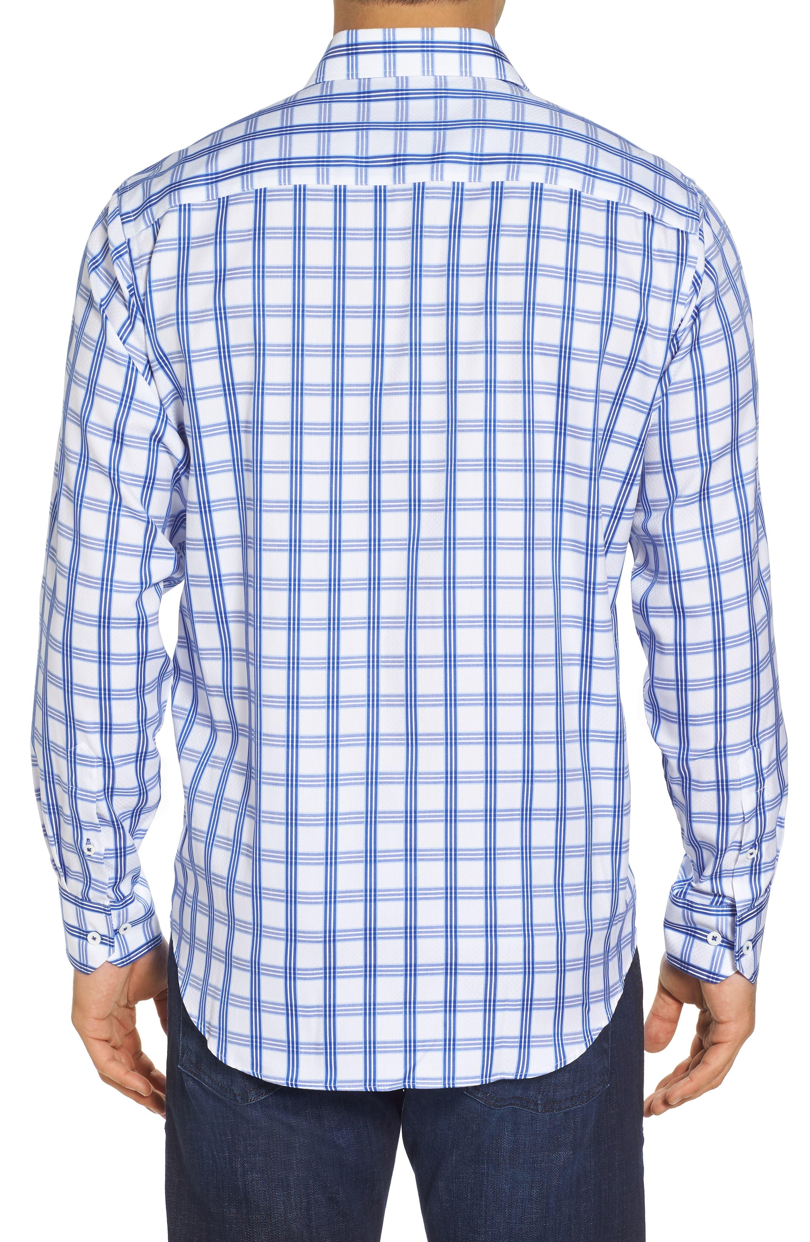Classic Fit Sport Shirt,                             Alternate thumbnail 2, color,                             CLASSIC BLUE