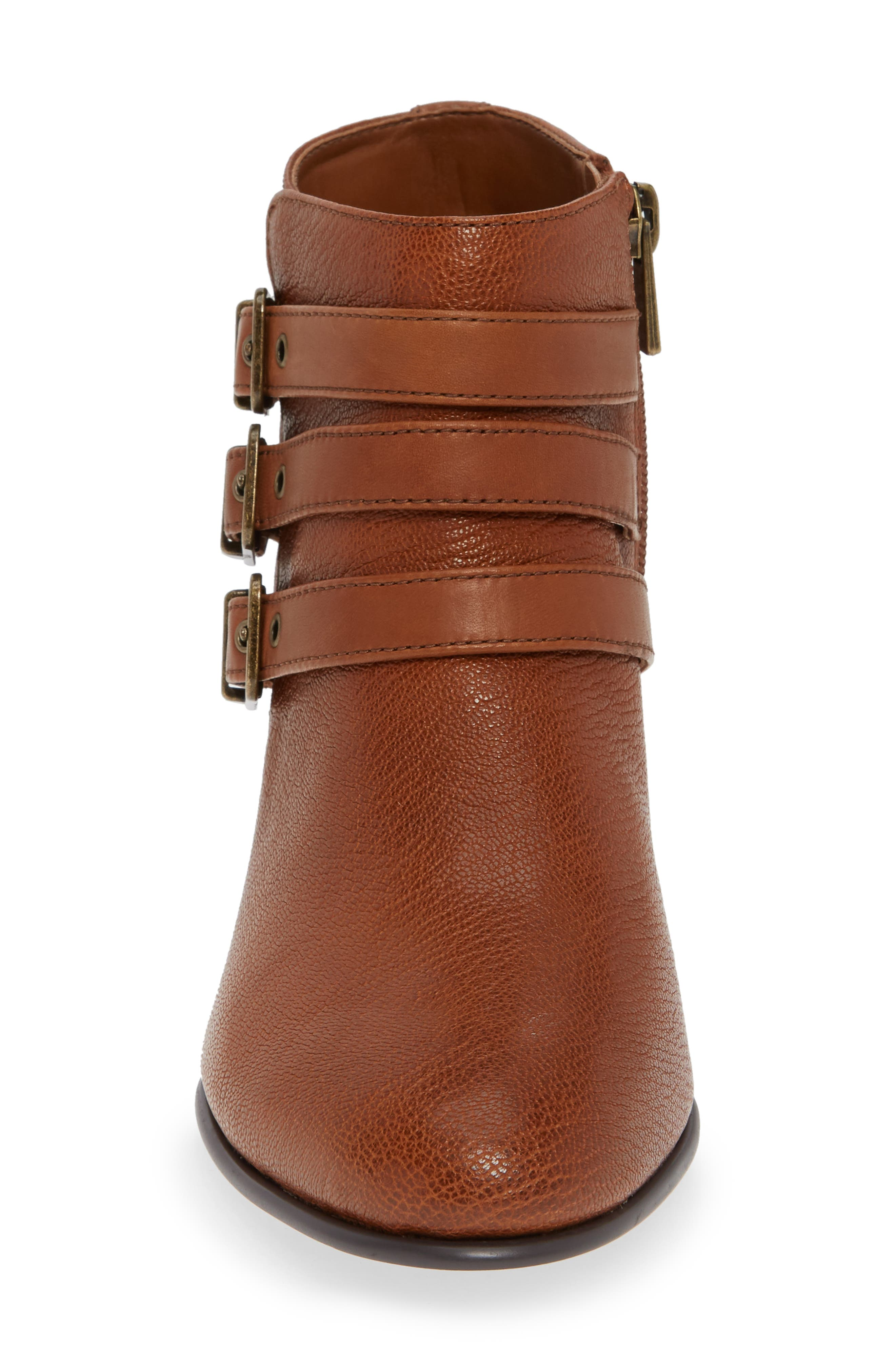 Maypearl Rayna Boot,                             Alternate thumbnail 4, color,                             DARK TAN LEATHER