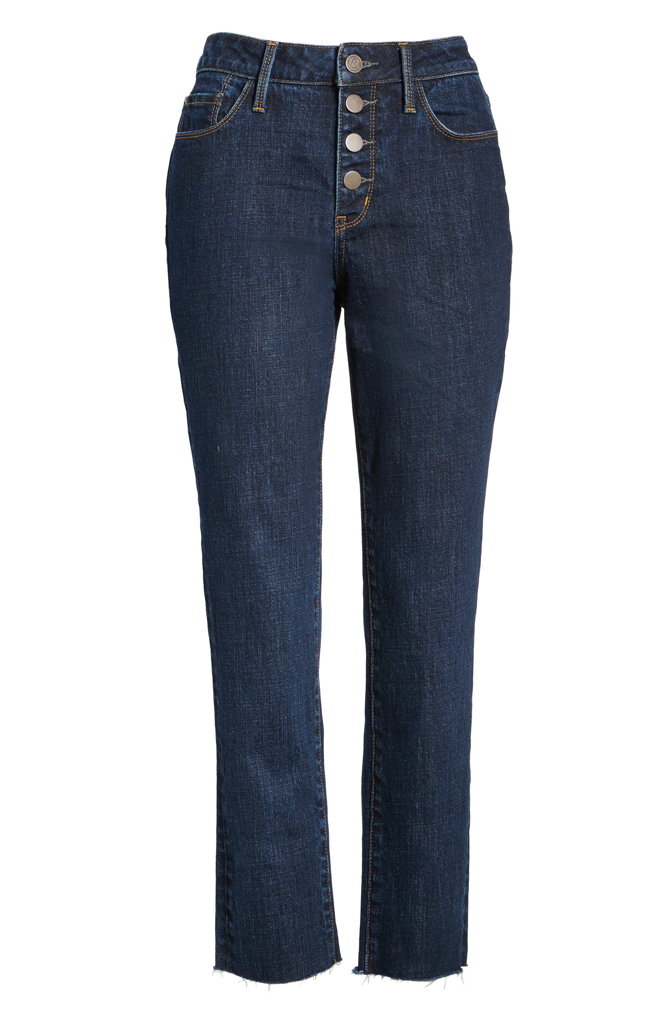 Bond Loose Fit Skinny Ankle Jeans,                             Alternate thumbnail 6, color,
