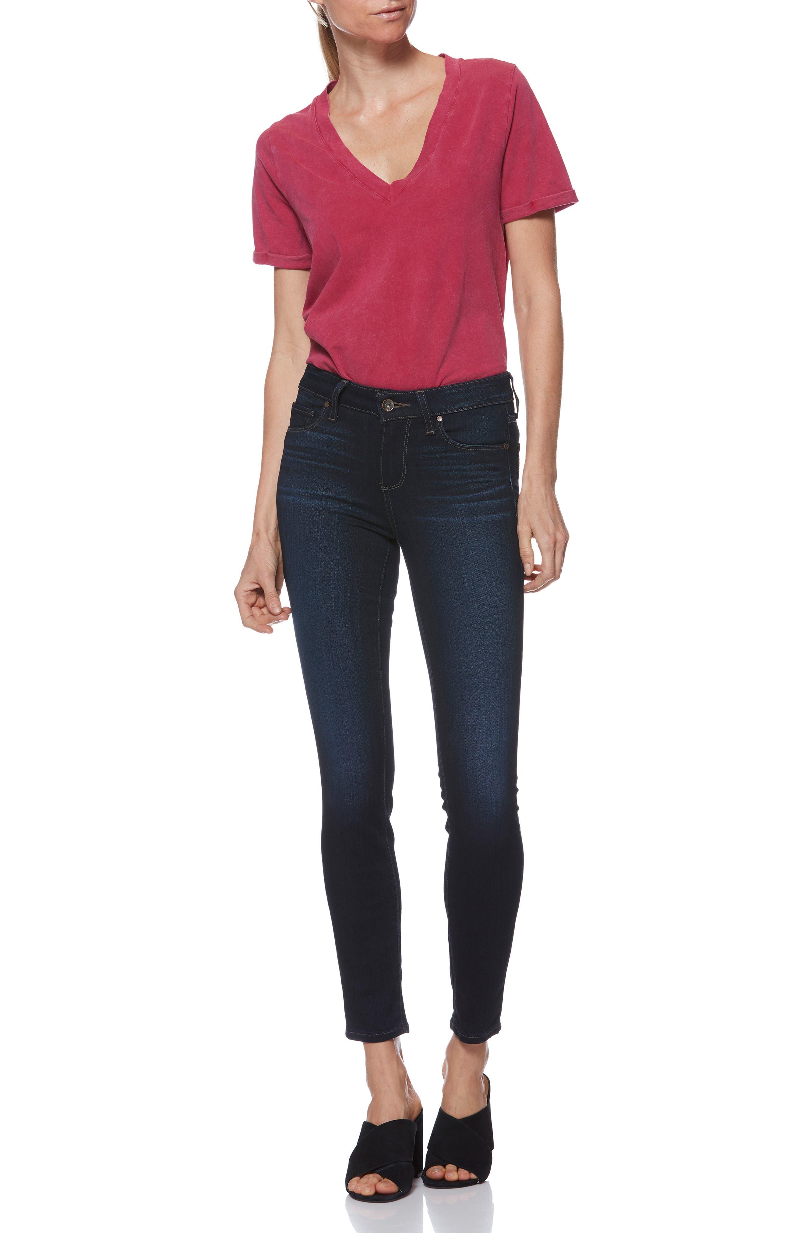 Transcend - Verdugo Ankle Skinny Jeans,                             Alternate thumbnail 8, color,                             400