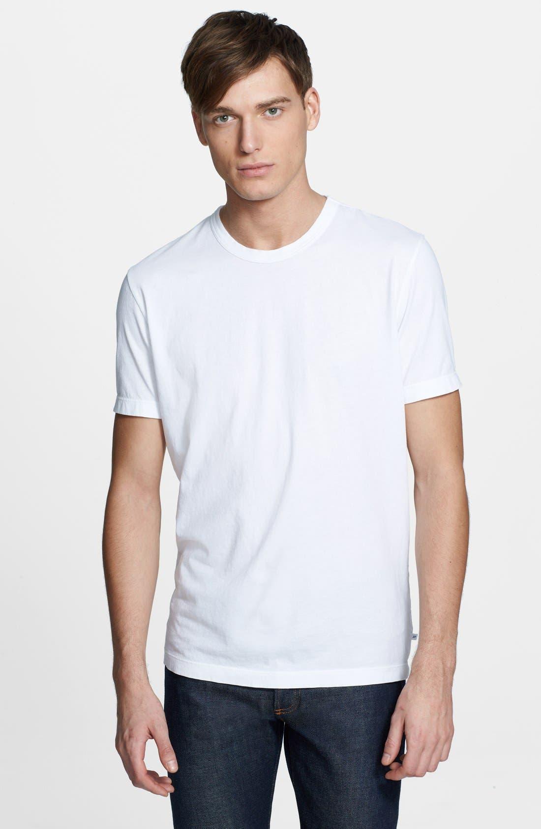 Crewneck Jersey T-Shirt,                             Main thumbnail 6, color,