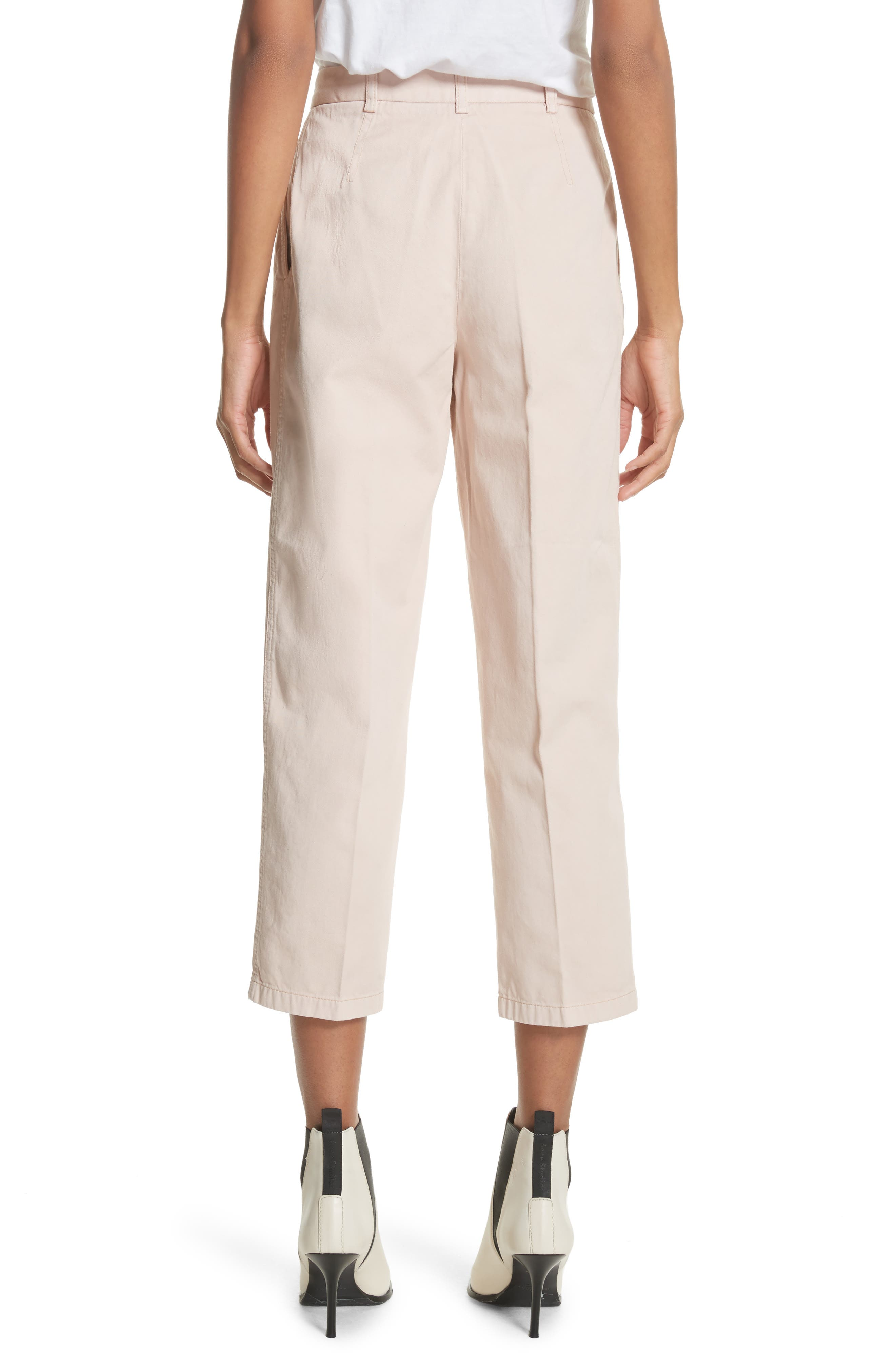 Tabea Crop Chinos,                             Alternate thumbnail 2, color,                             650