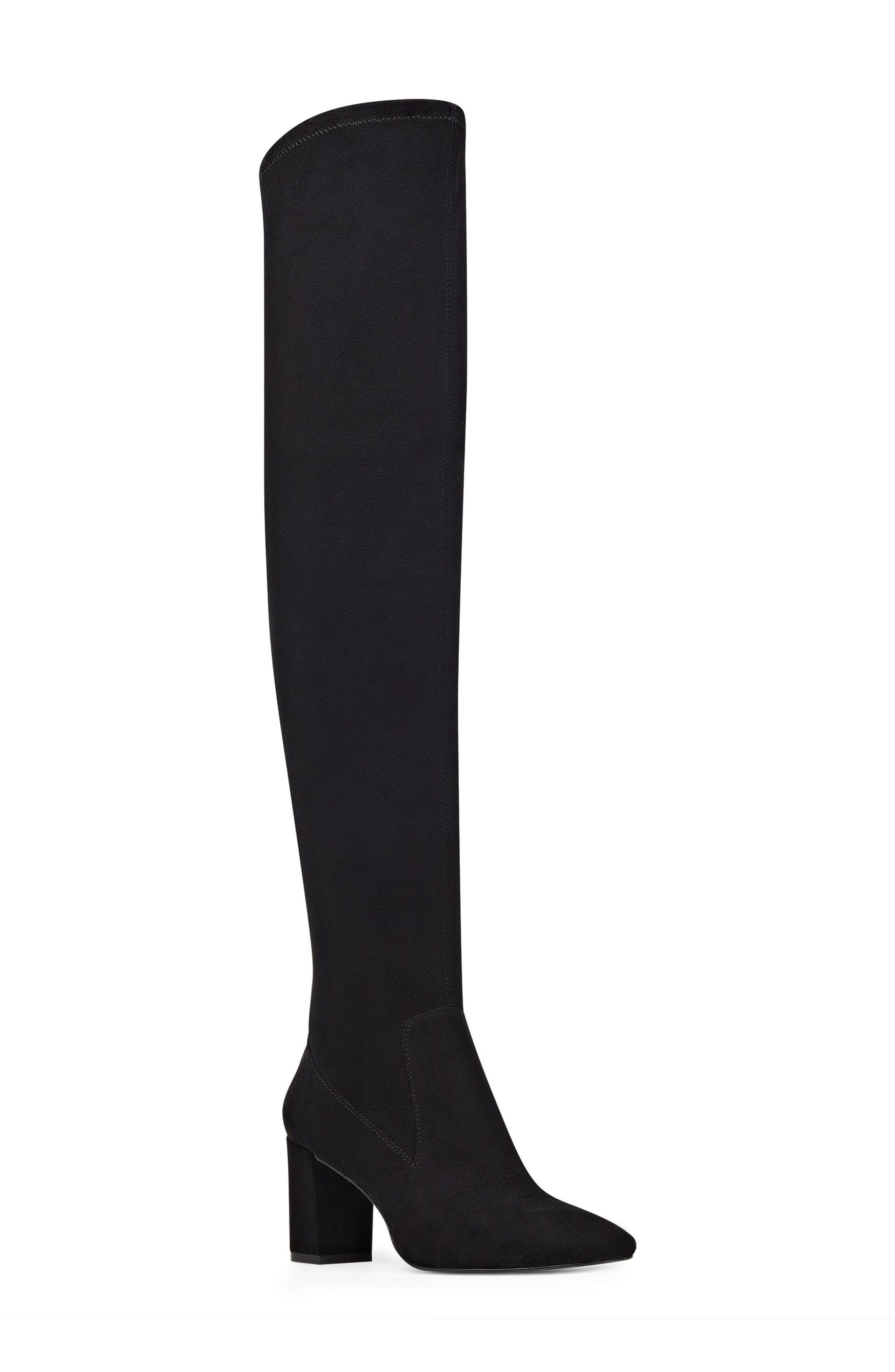 Xperian Over the Knee Boot,                             Main thumbnail 1, color,                             001