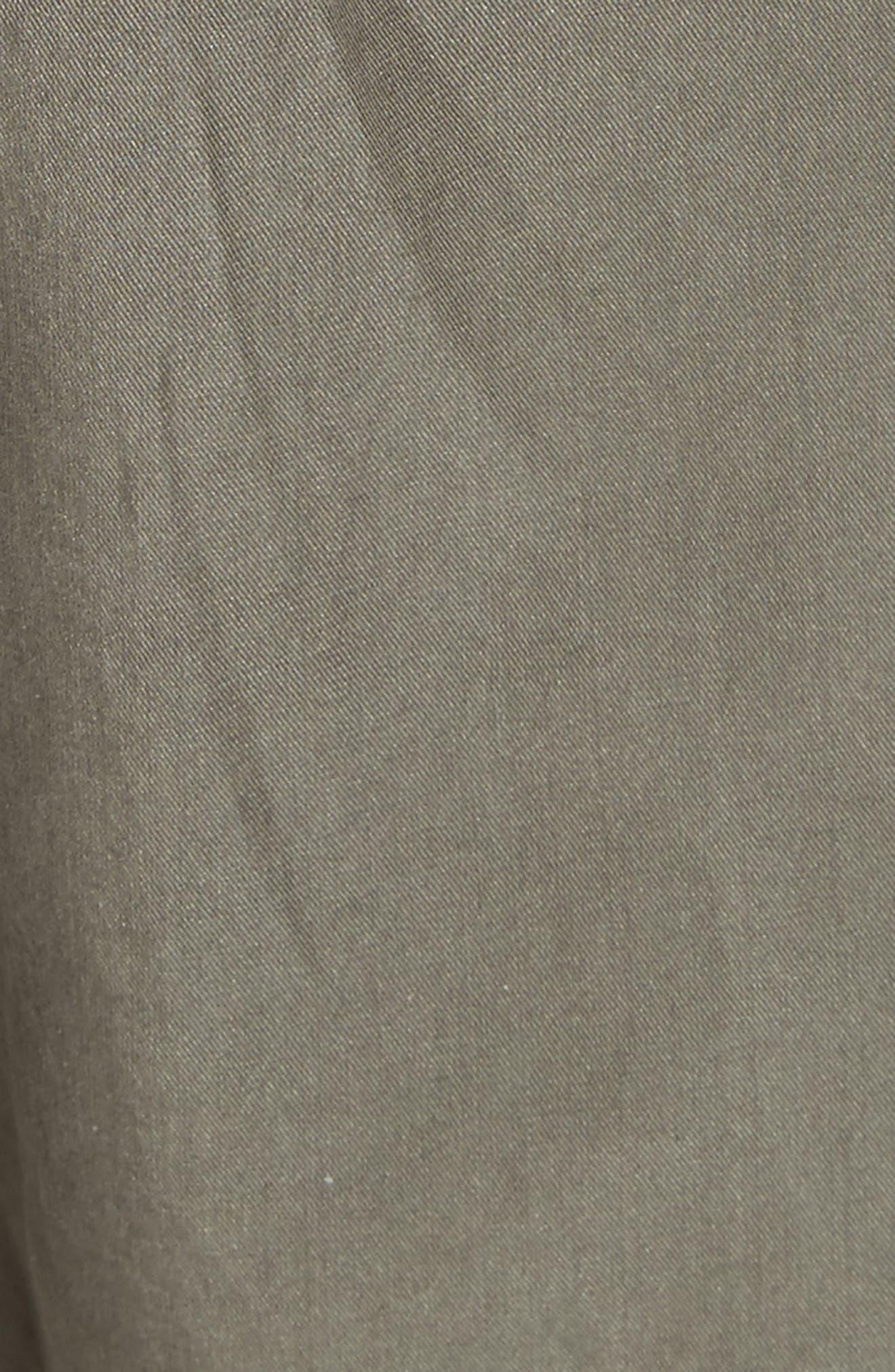 Silk Blend Track Pants,                             Alternate thumbnail 5, color,                             346