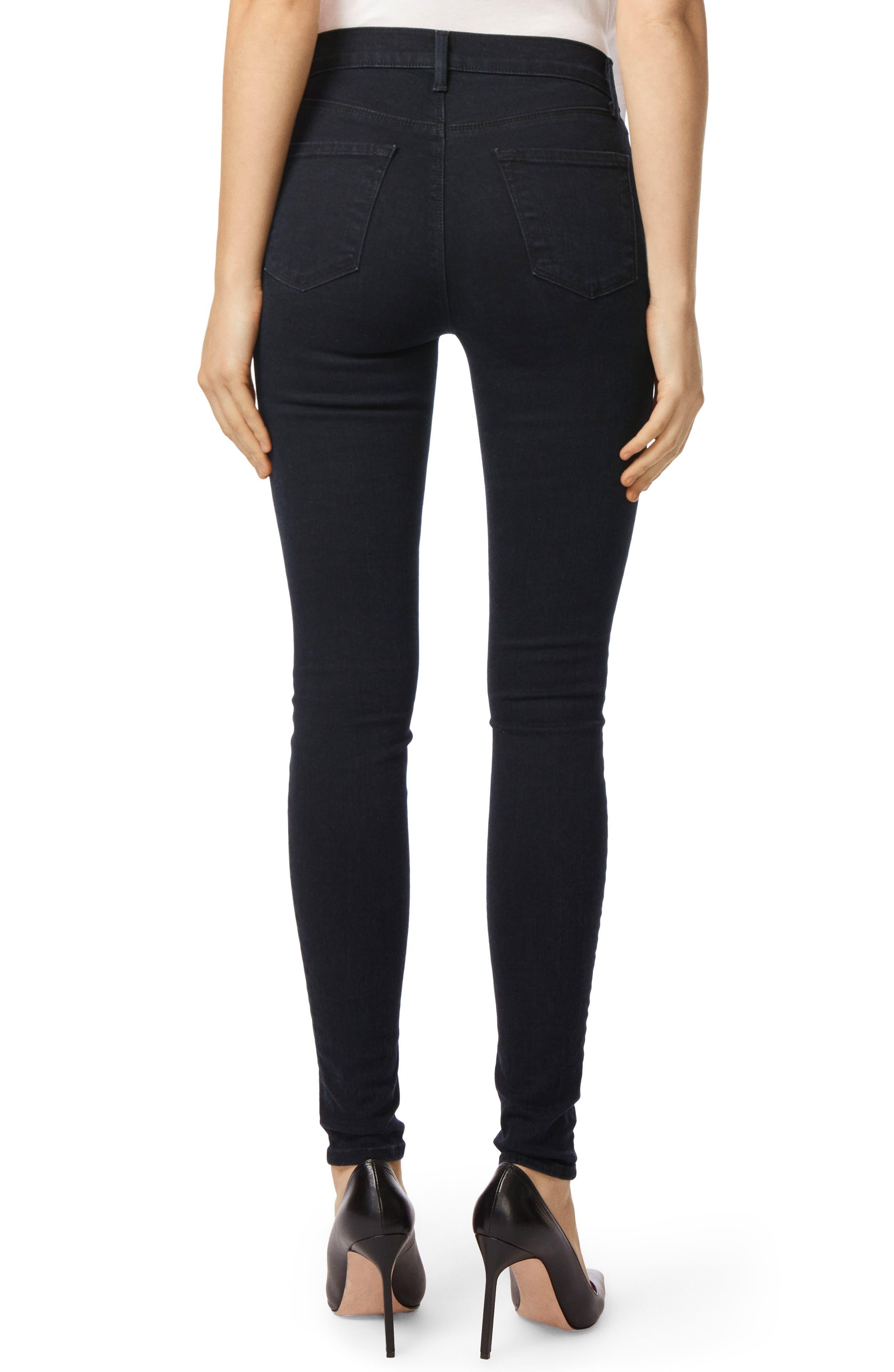 Maria High Waist Skinny Jeans,                             Alternate thumbnail 2, color,                             BLUEBIRD