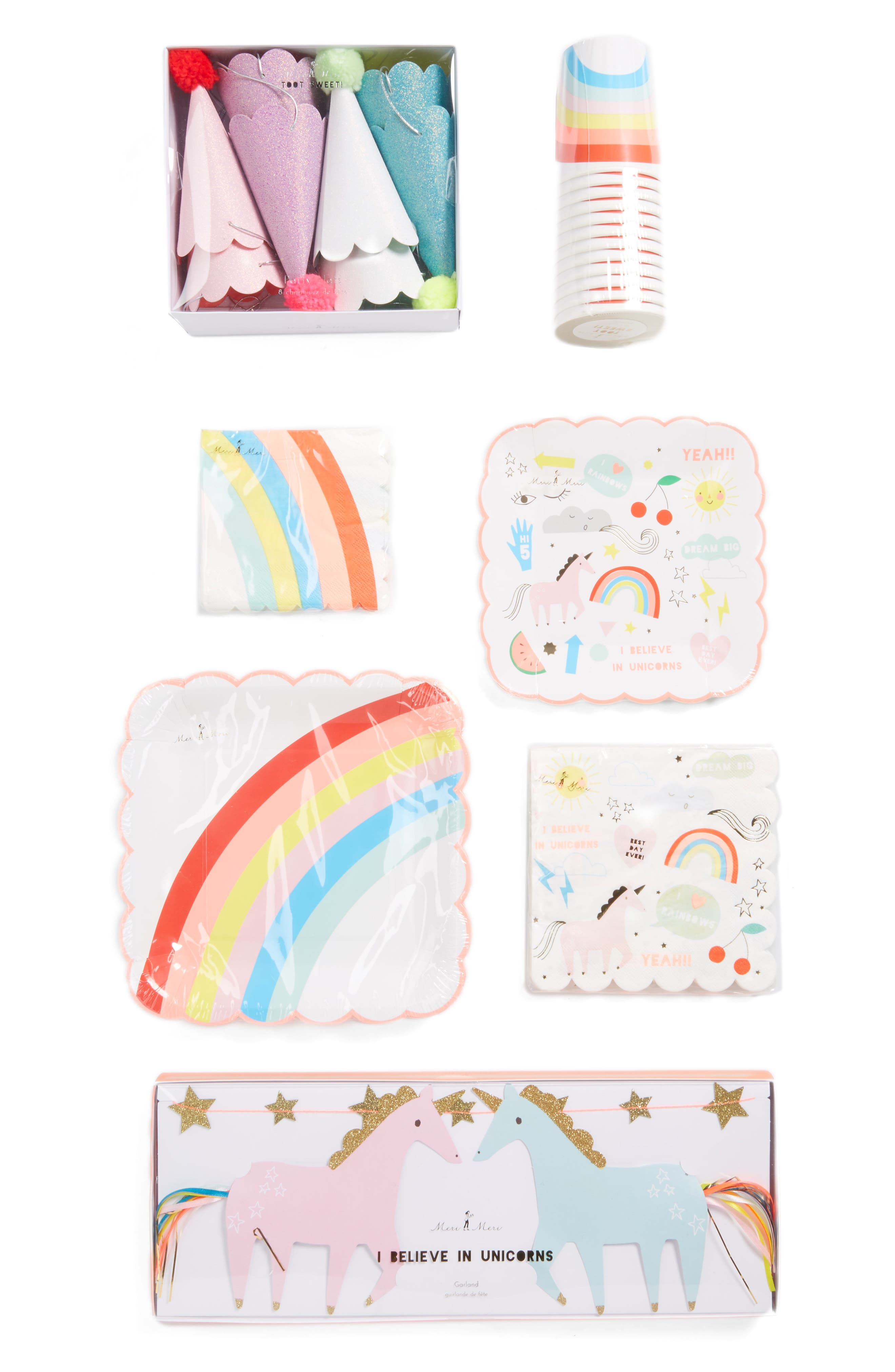 Unicorn Party Bundle Kit,                             Main thumbnail 1, color,                             100