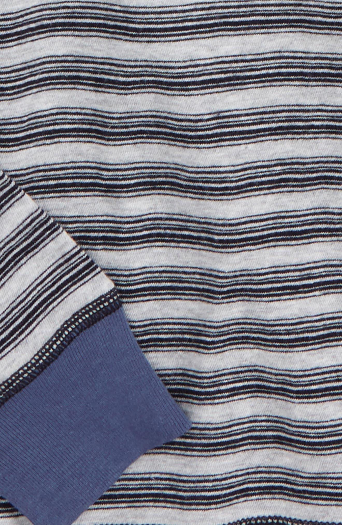 Stripe Henley,                             Alternate thumbnail 2, color,                             420