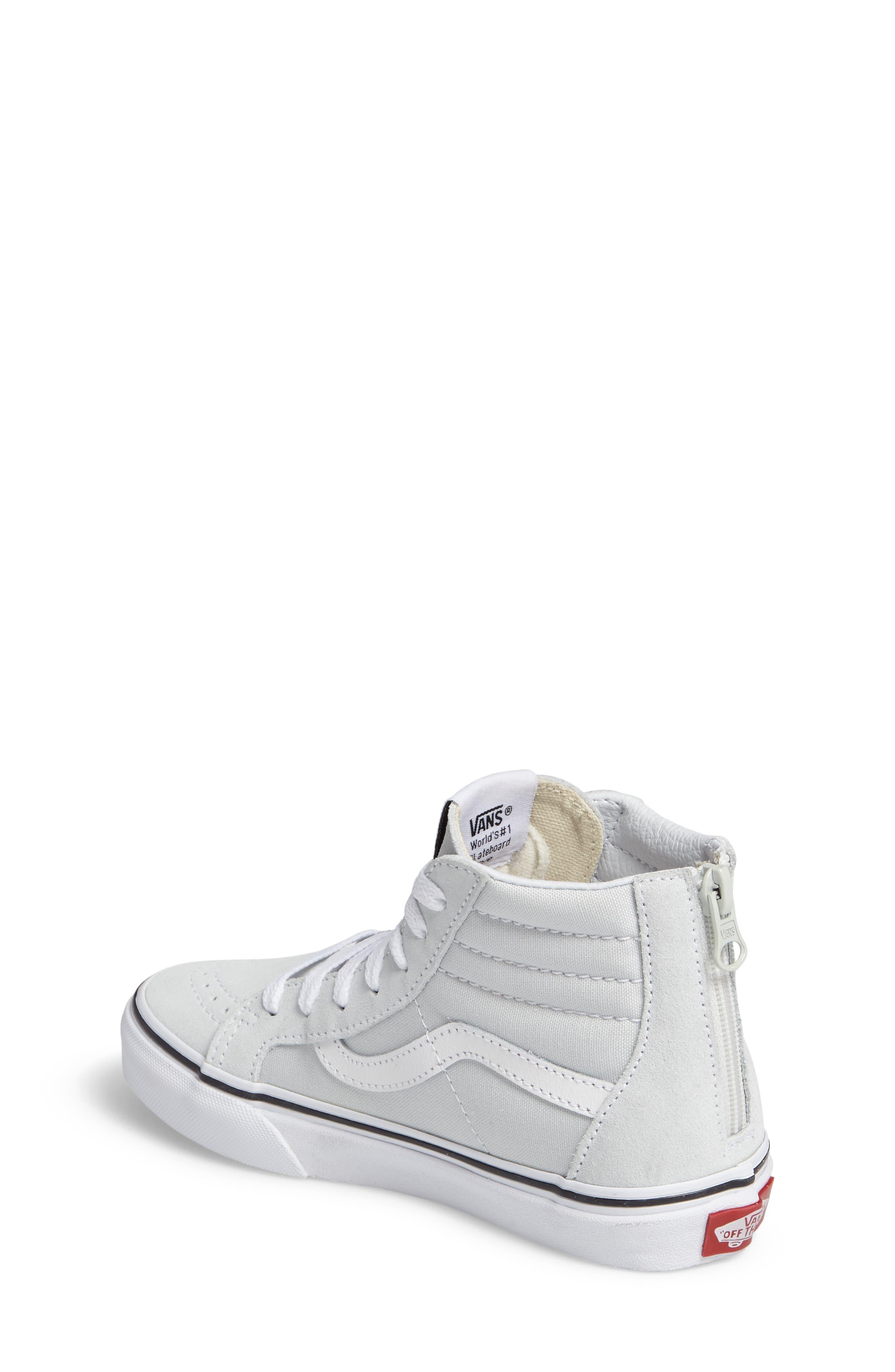 SK8-Hi Zip Sneaker,                             Alternate thumbnail 2, color,                             900