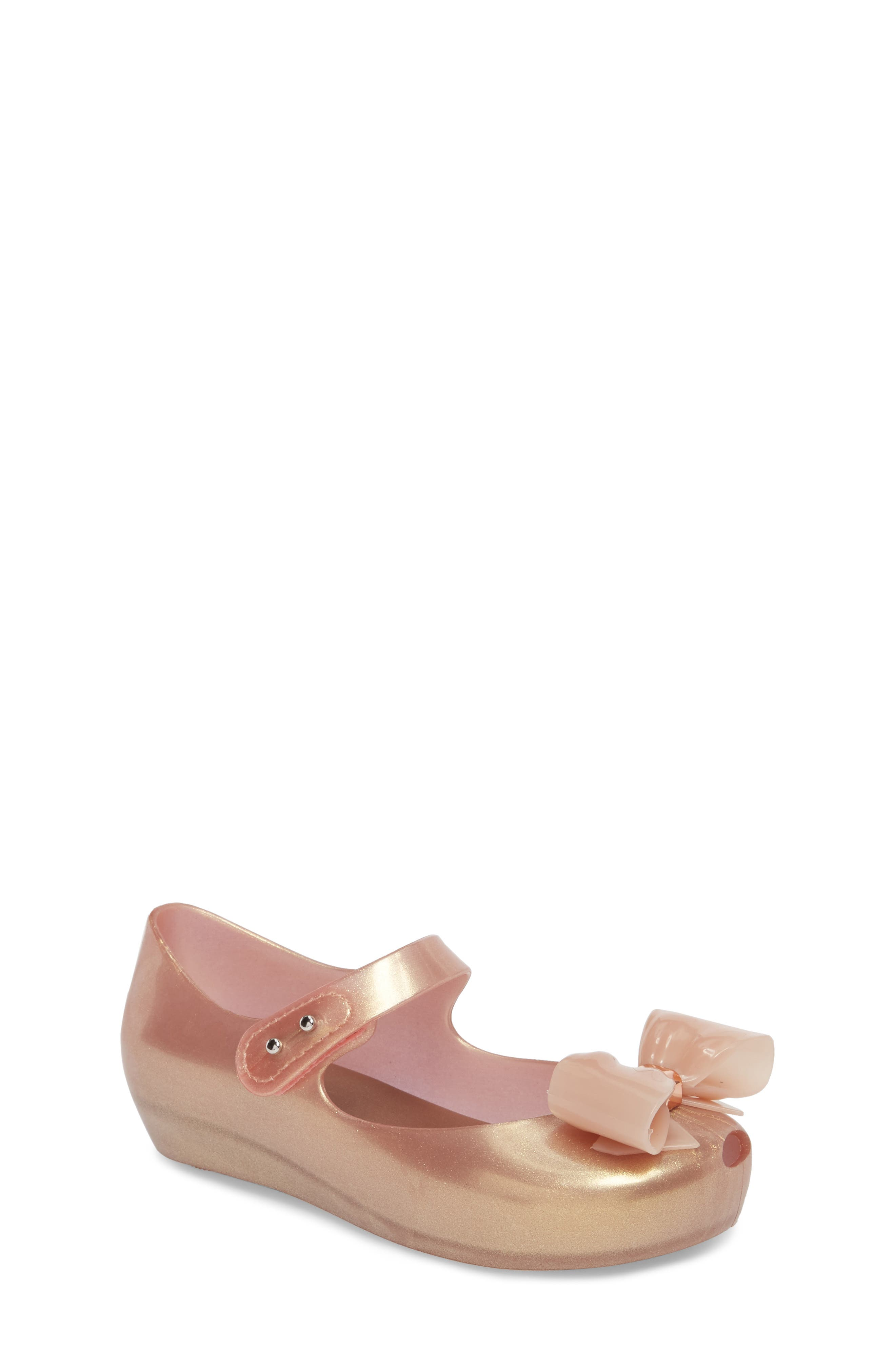 Ultragirl VIII Mary Jane Flat,                             Main thumbnail 1, color,                             METALLIC PINK
