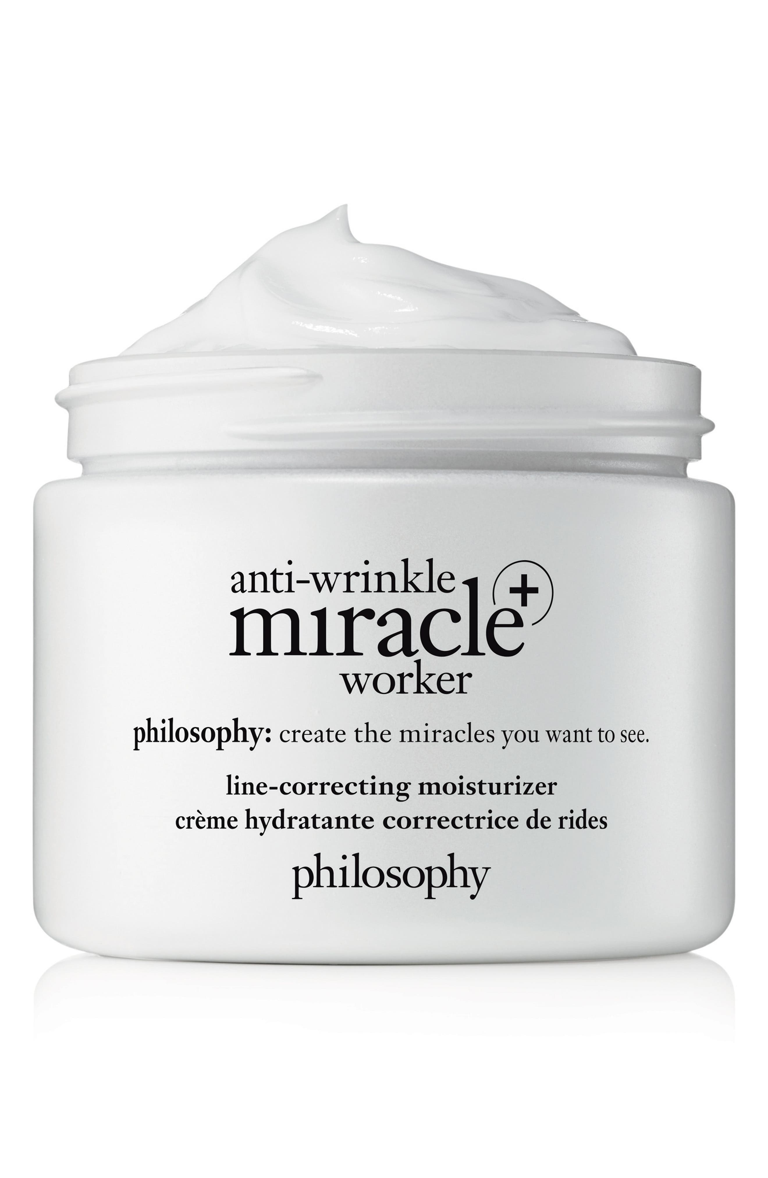 PHILOSOPHY,                             anti-wrinkle miracle worker + line-correcting moisturizer,                             Alternate thumbnail 2, color,                             NO COLOR