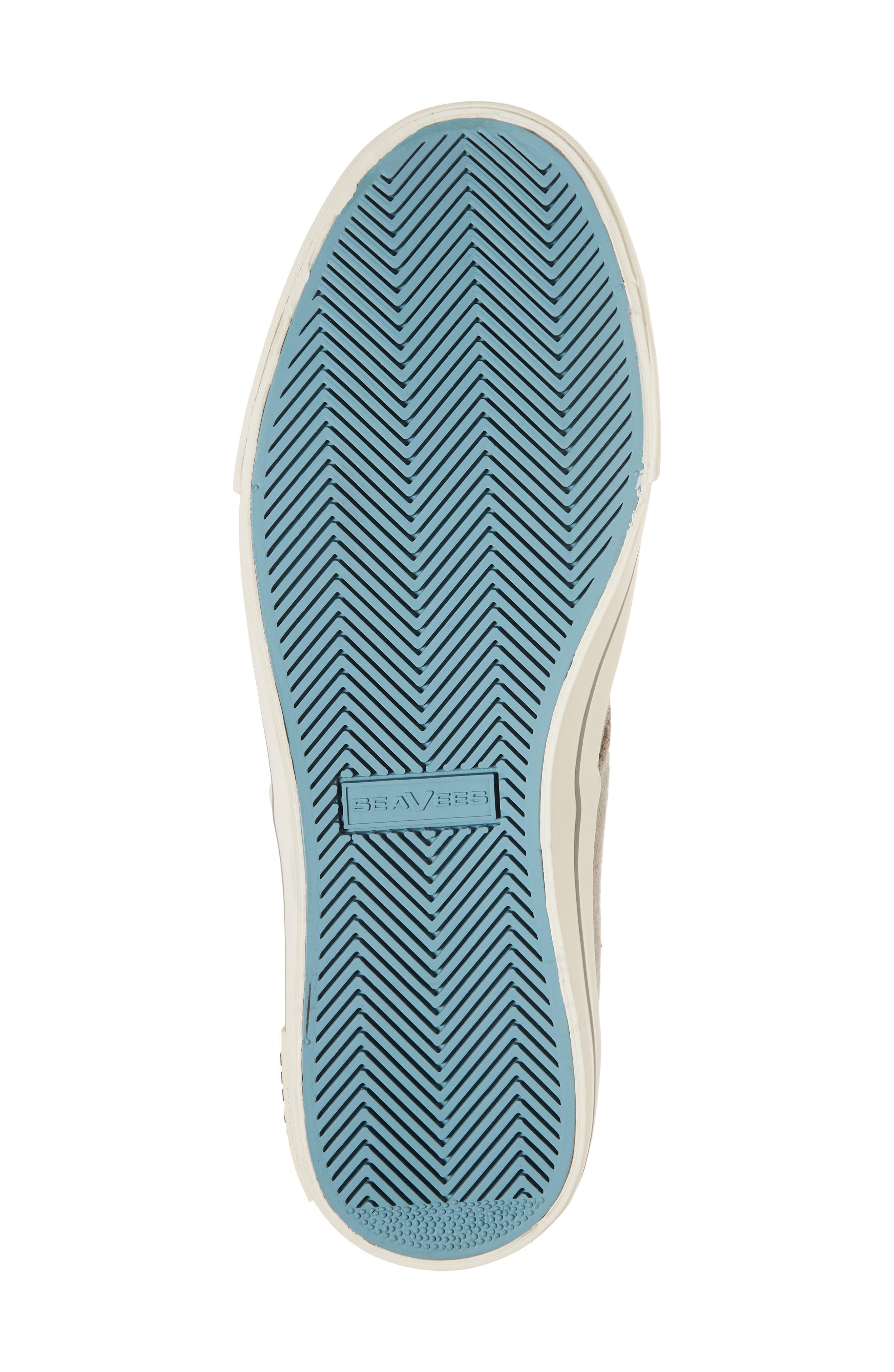 'Hermosa Plimsoll' Sneaker,                             Alternate thumbnail 6, color,                             TIN GREY VINTAGE WASH LINEN
