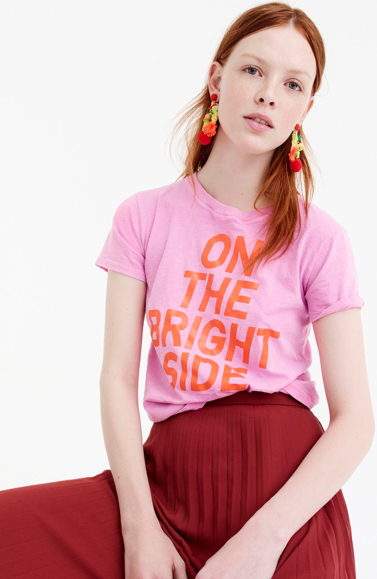 On the Bright Side Tee,                             Alternate thumbnail 2, color,                             651