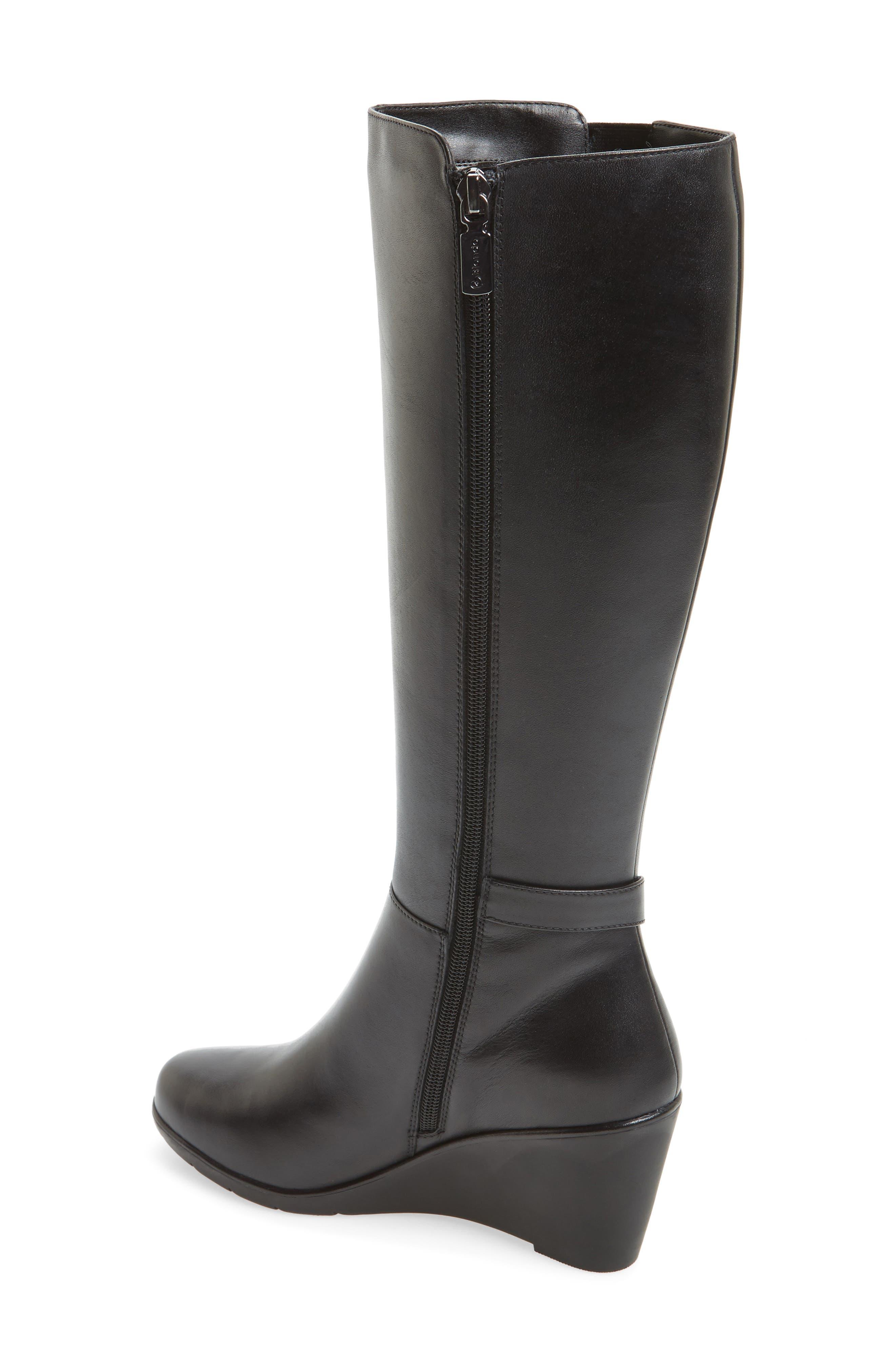 Lexie Waterproof Knee High Boot,                             Alternate thumbnail 2, color,                             001