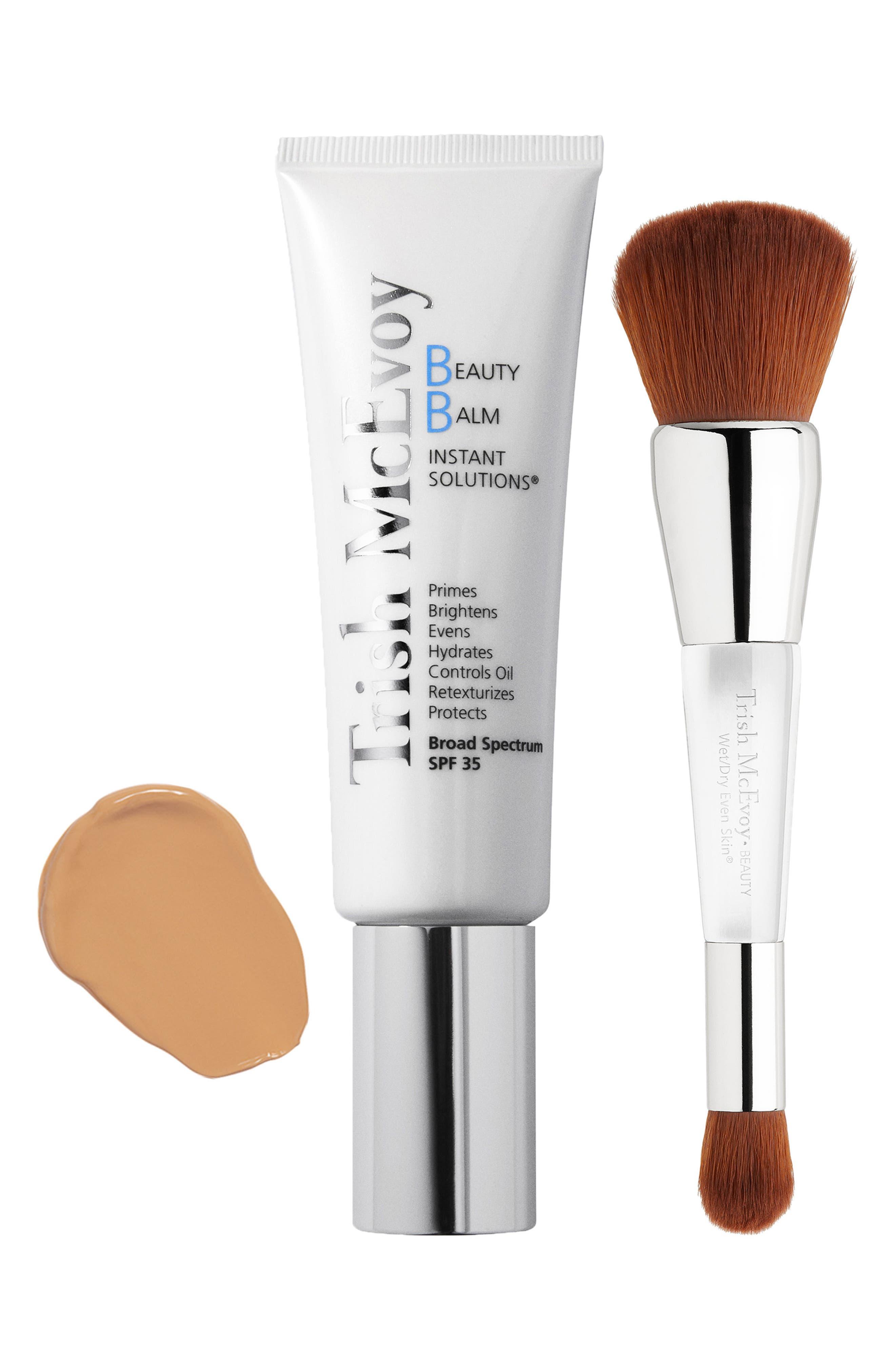 Beauty Balm & Wet/Dry Brush Set,                             Main thumbnail 1, color,                             200