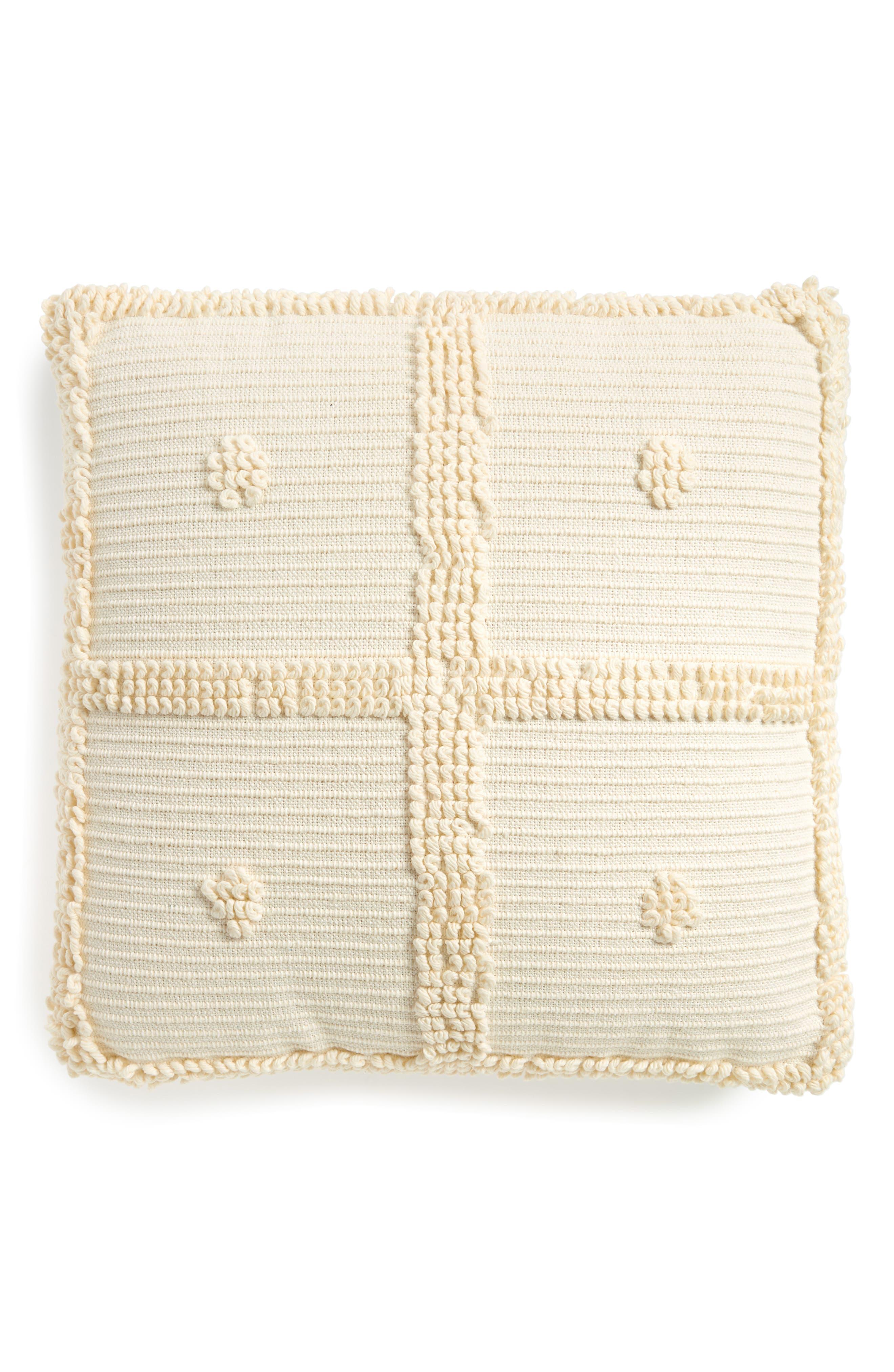 Square Accent Pillow,                             Main thumbnail 1, color,                             100