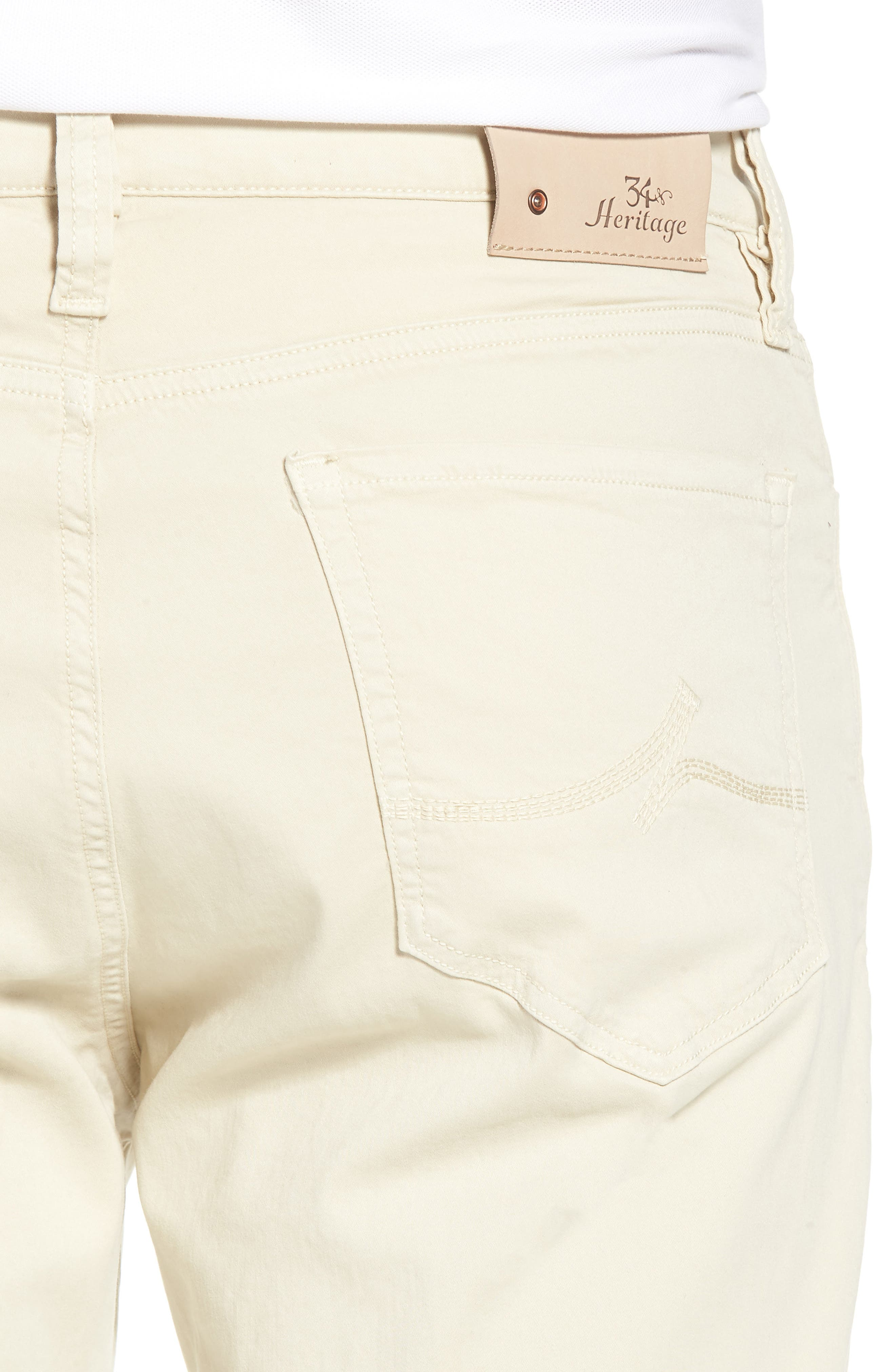 Charisma Relaxed Fit Jeans,                             Alternate thumbnail 4, color,                             BONE TWILL