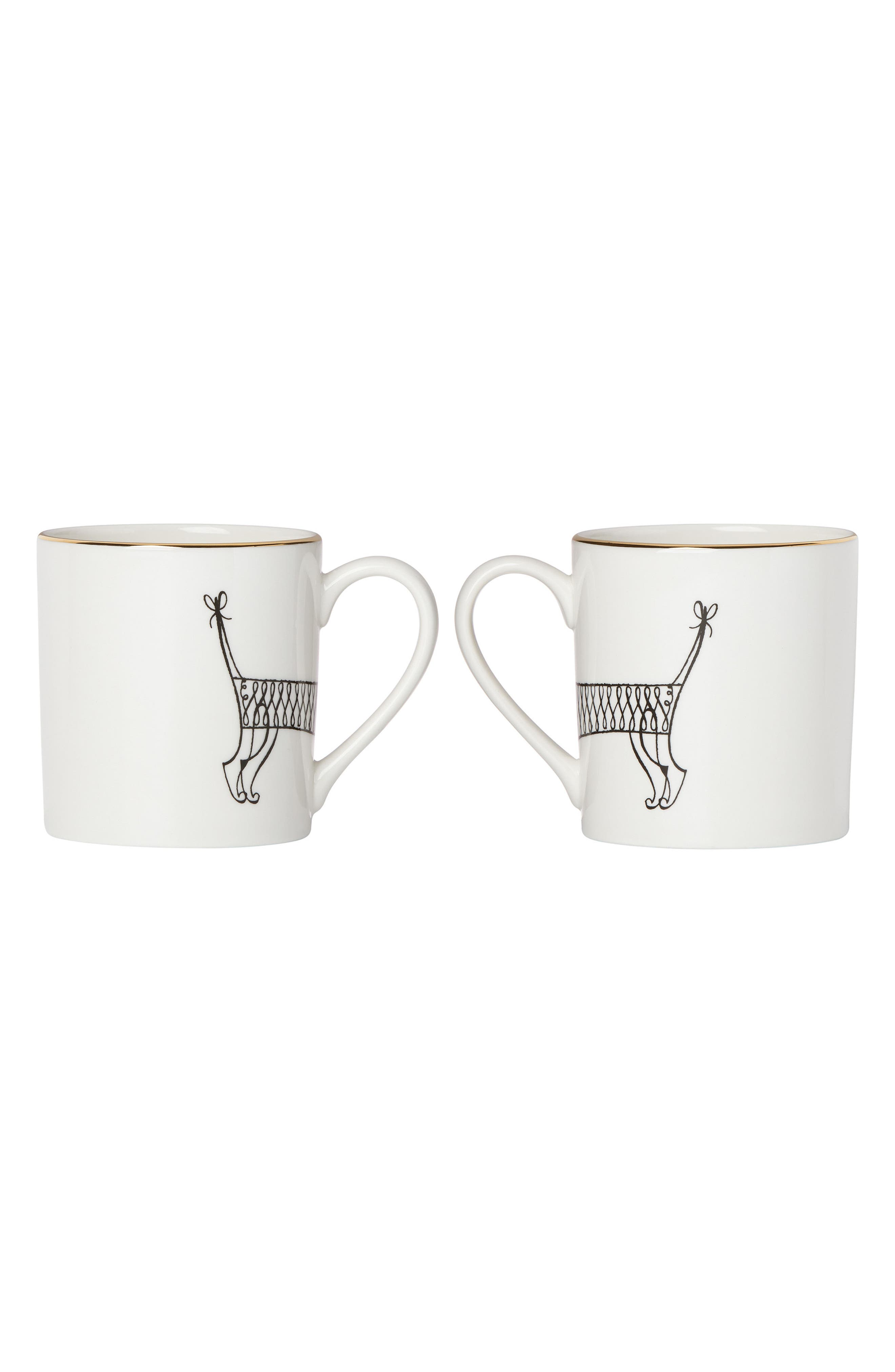 jingle all the way set of 2 mugs,                             Alternate thumbnail 2, color,