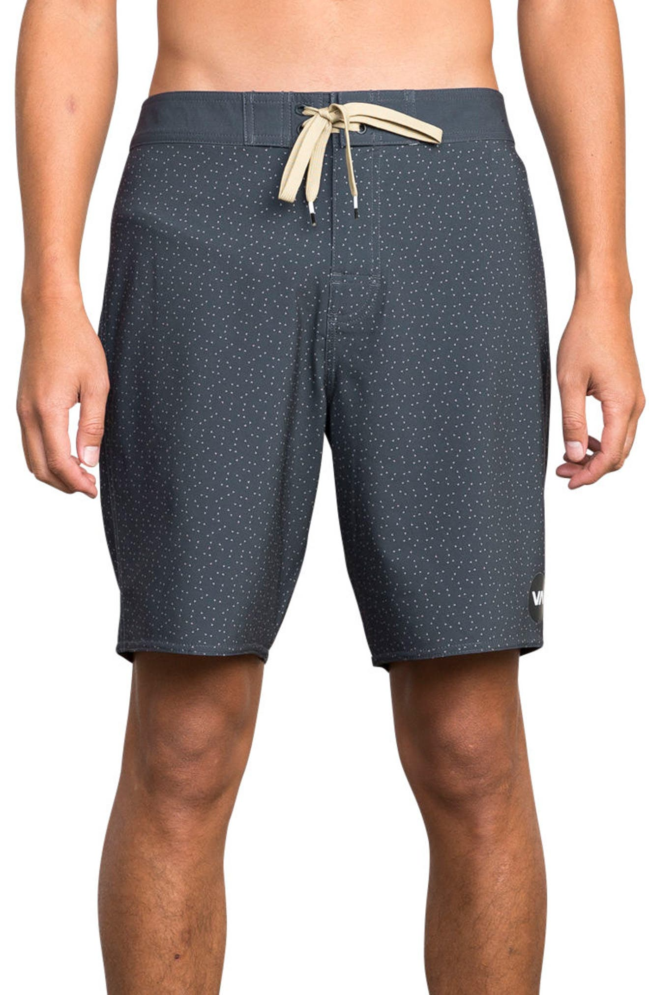 Mirage Print Board Shorts,                         Main,                         color, CLASSIC INDIGO