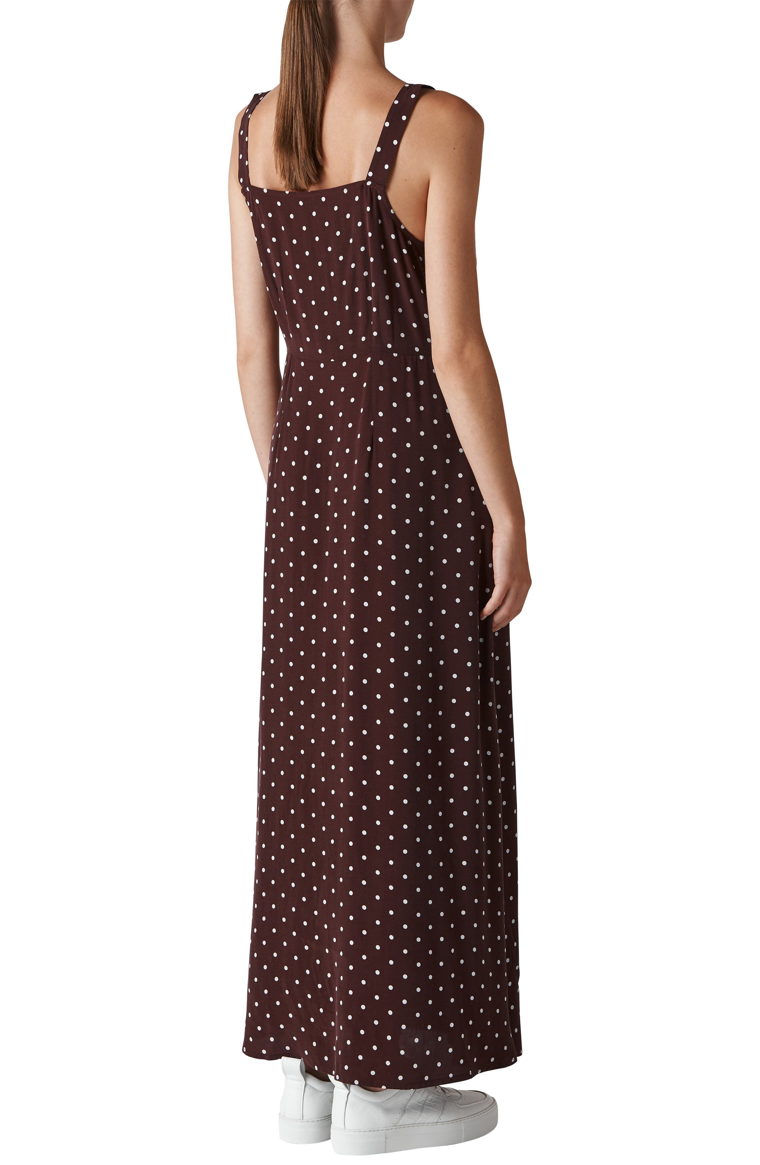 Spot Maxi Dress,                             Alternate thumbnail 2, color,                             930